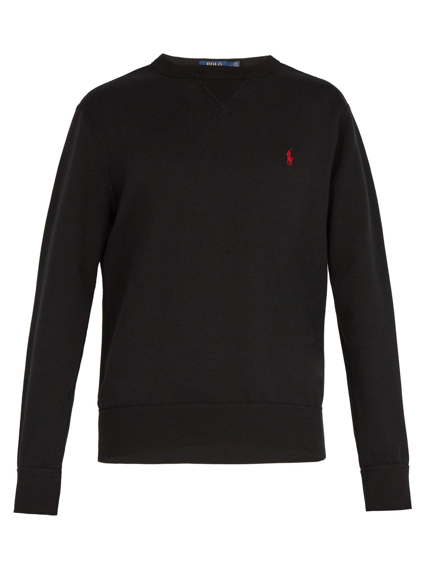 Polo Ralph Lauren   Mens Chest Badge Sweatshirt   Crew