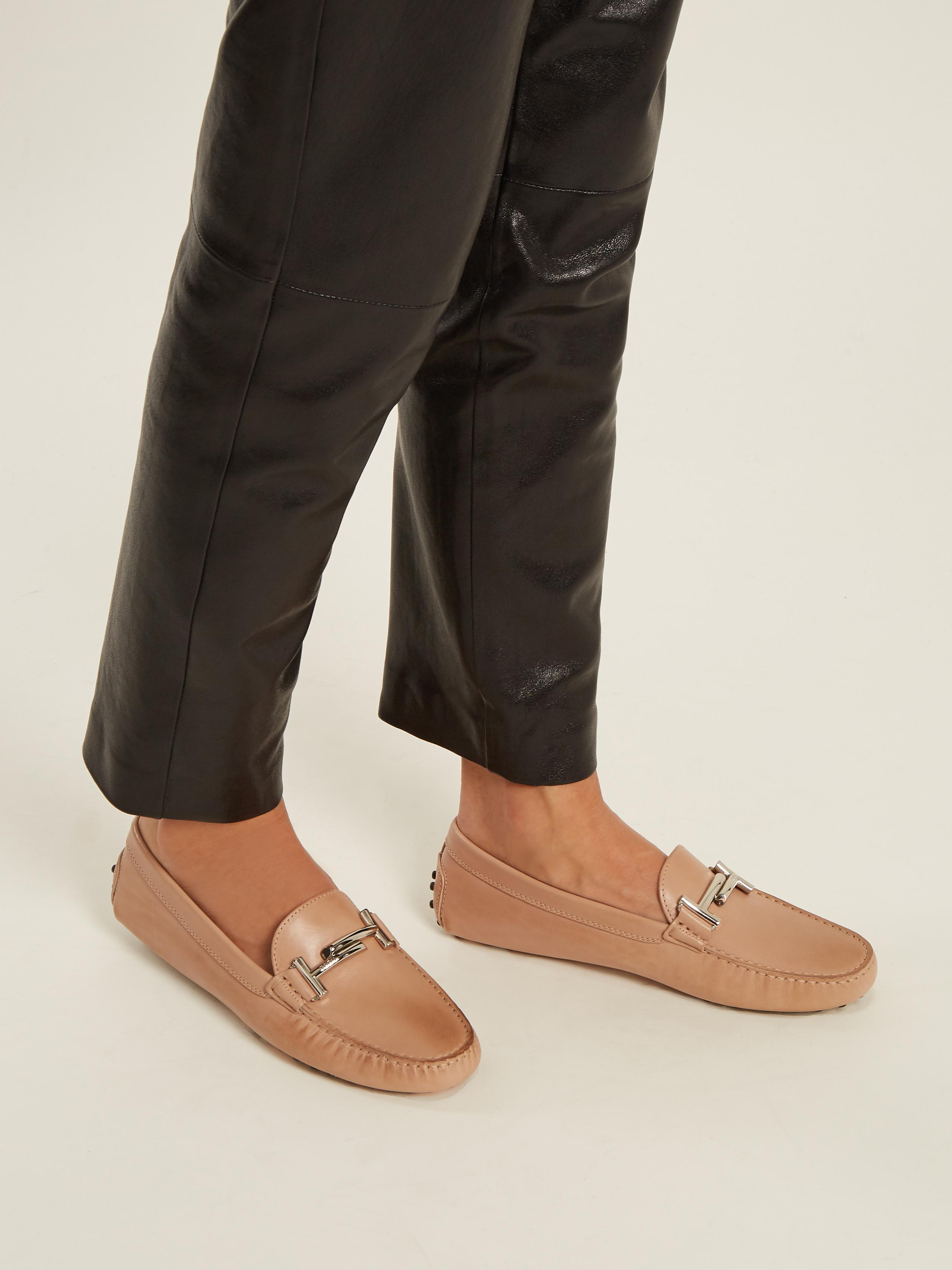 Bar Gommino T Multicolor Tod's Leather Loafers OiZPTXku