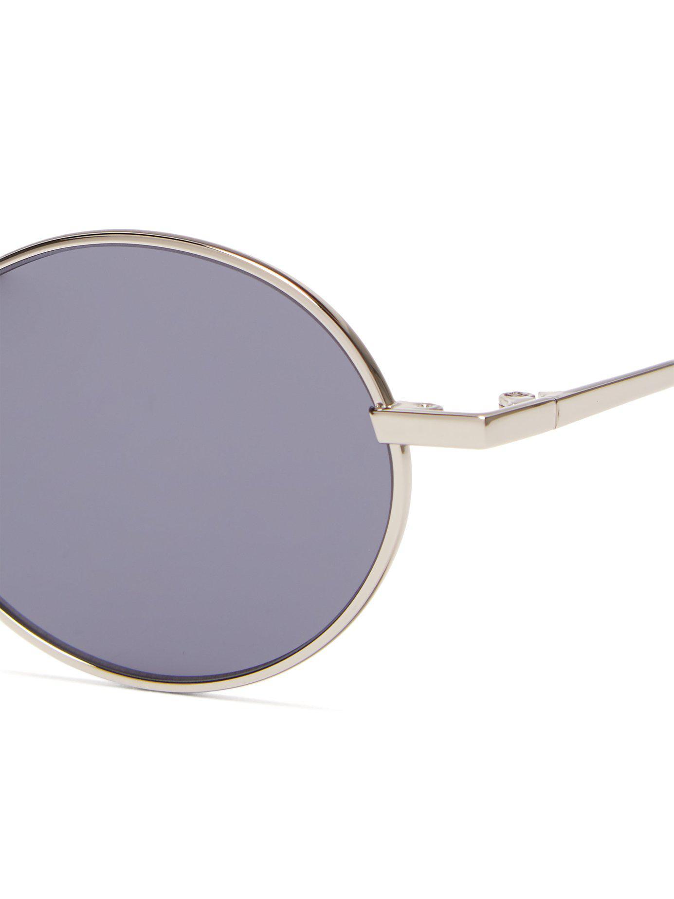 f1f64ddbc5830 Gentle Monster - Metallic Cobalt Stainless Steel Sunglasses for Men - Lyst.  View fullscreen
