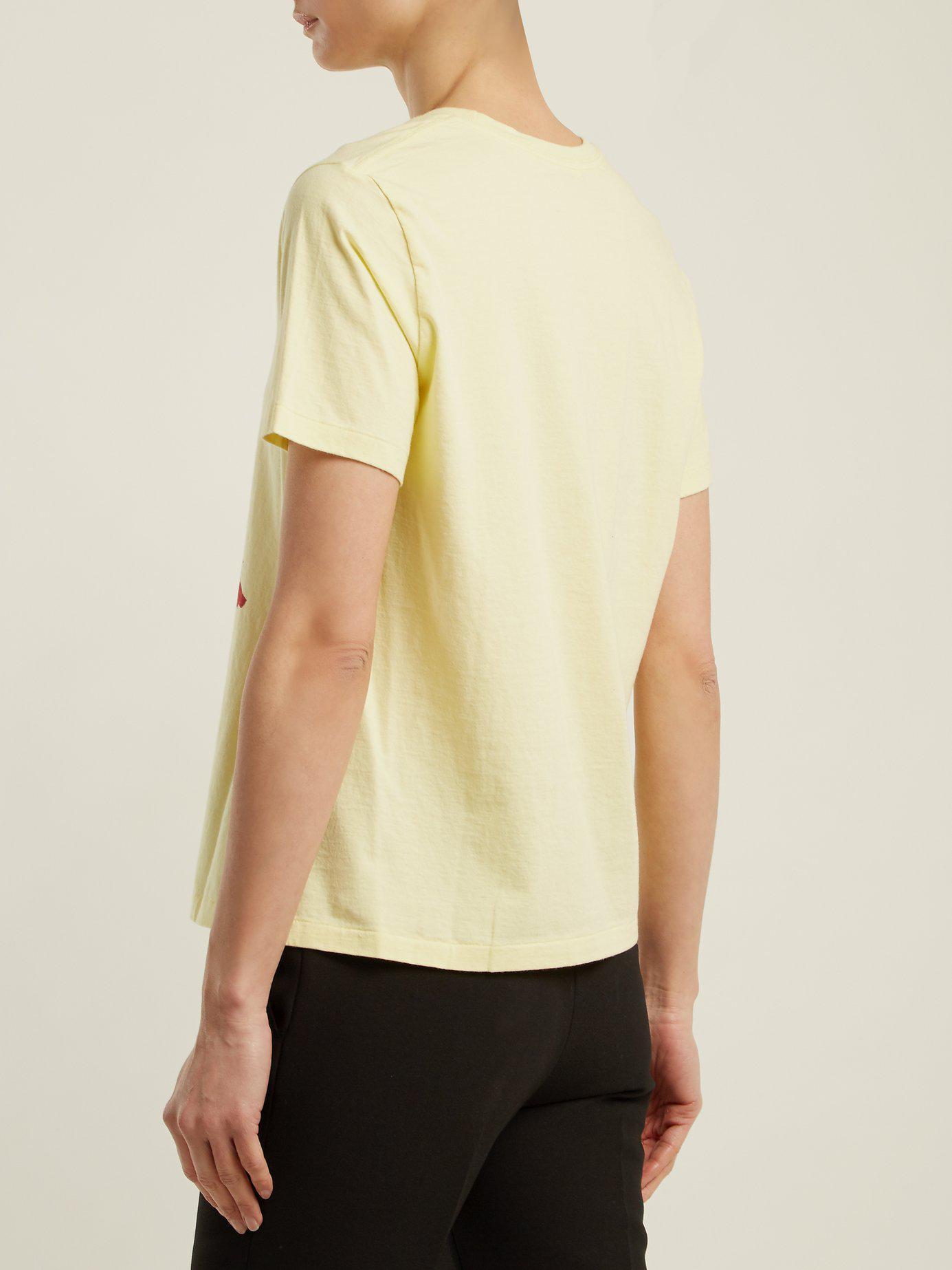 UNDERCOVER T-shirt en coton à imprimé chat nW9EAY