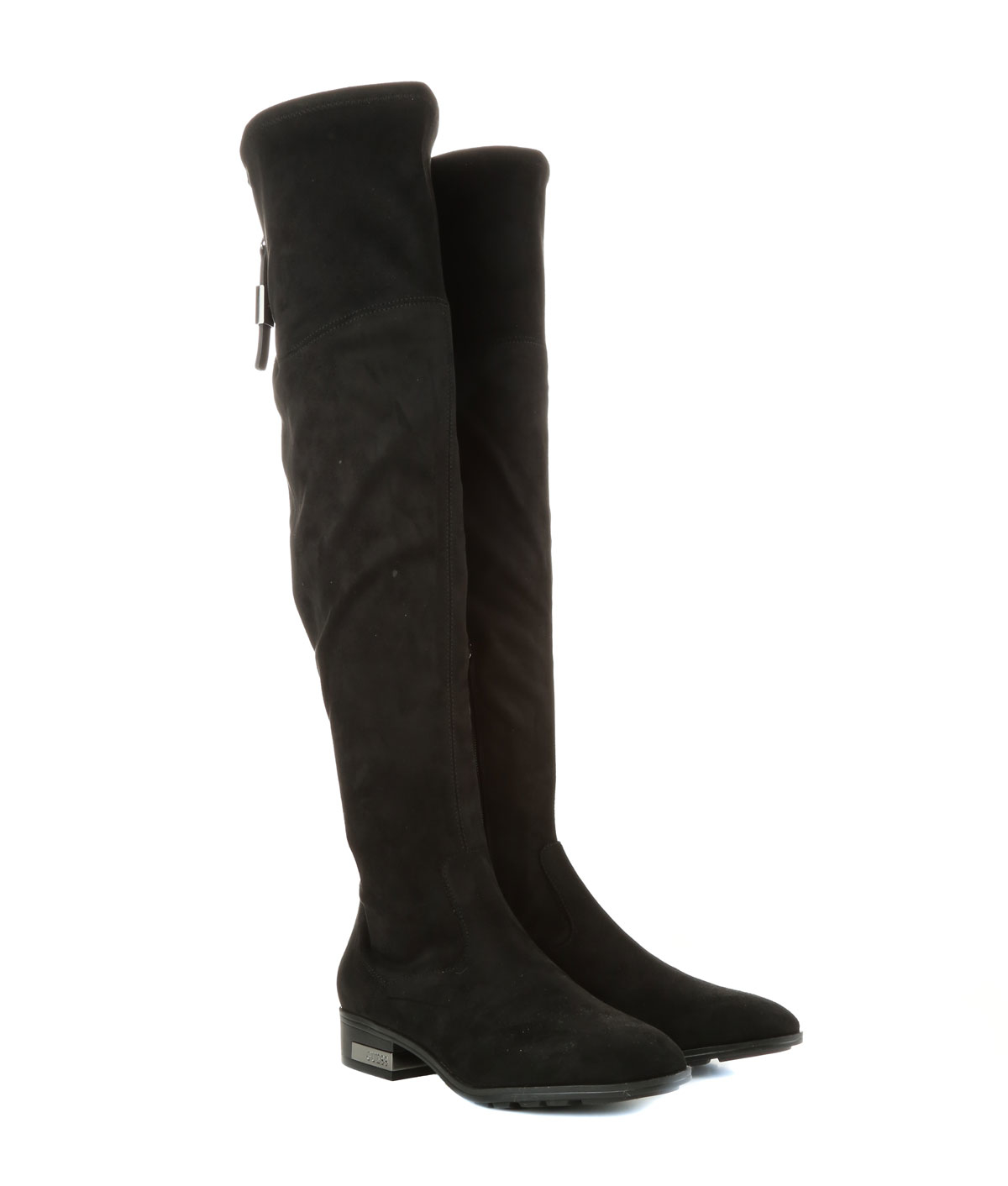 guess overknee boots in black lyst