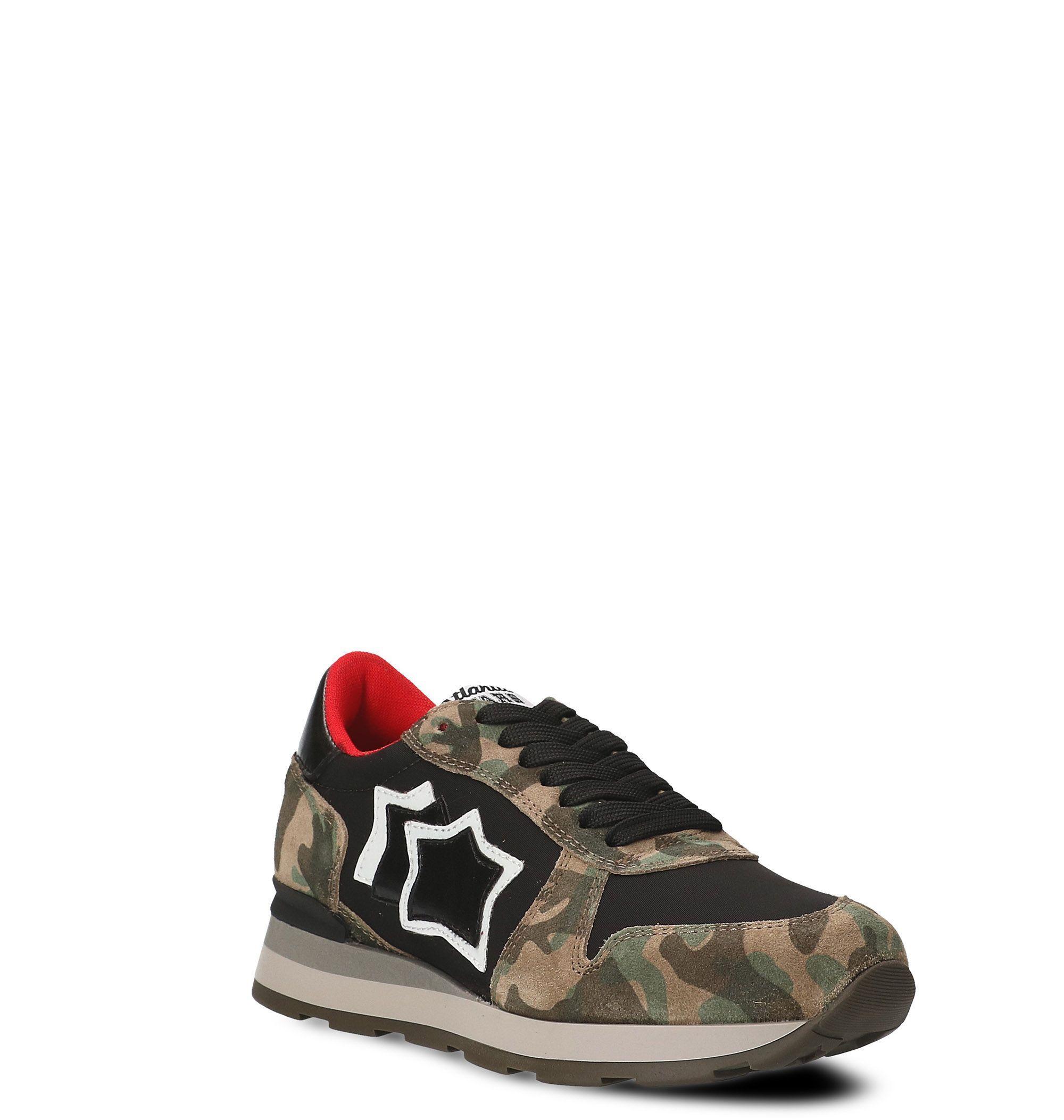Atlantic Stars Leather Sneakers