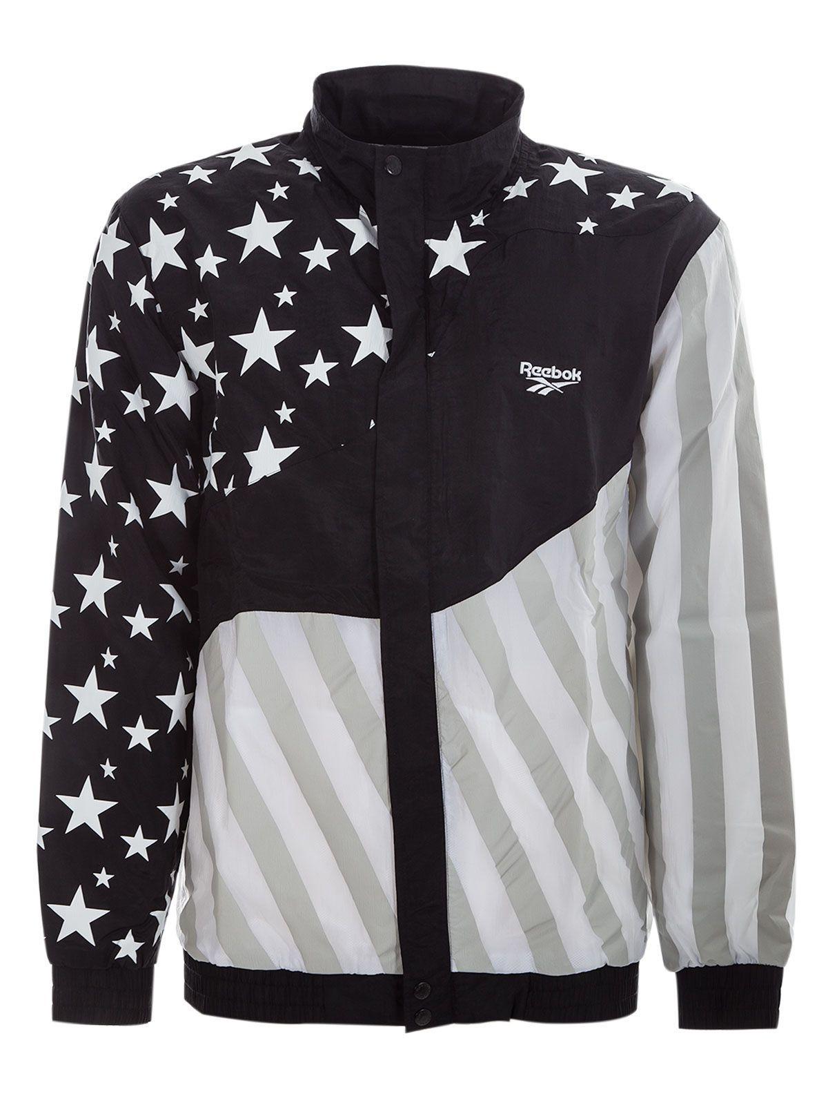 reebok hush track jacket