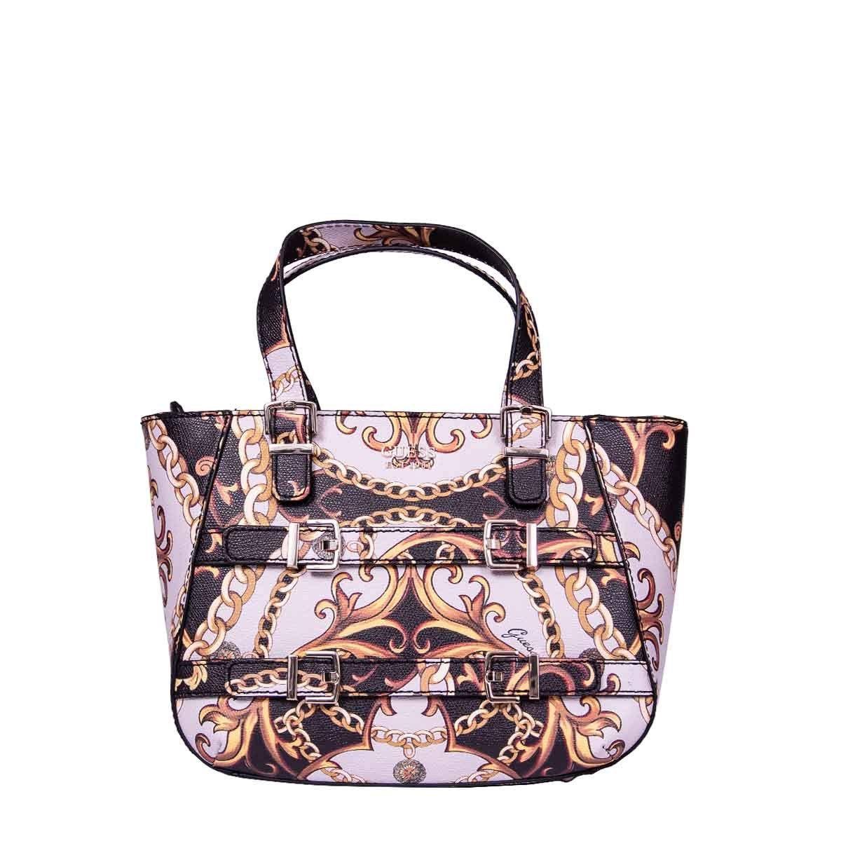 4660b714c382 Lyst - Guess Multicolor Faux Leather Shoulder Bag