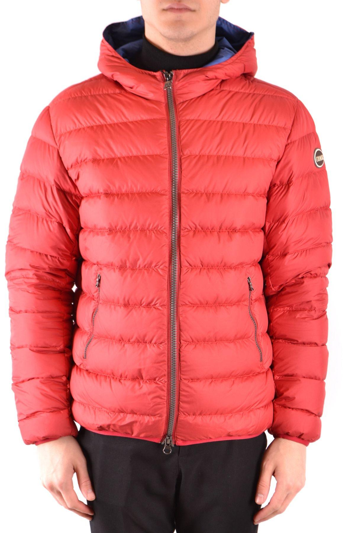 2fa68eb08811b Lyst - COLMAR ORIGINALS Red Polyamide Down Jacket in Red for Men