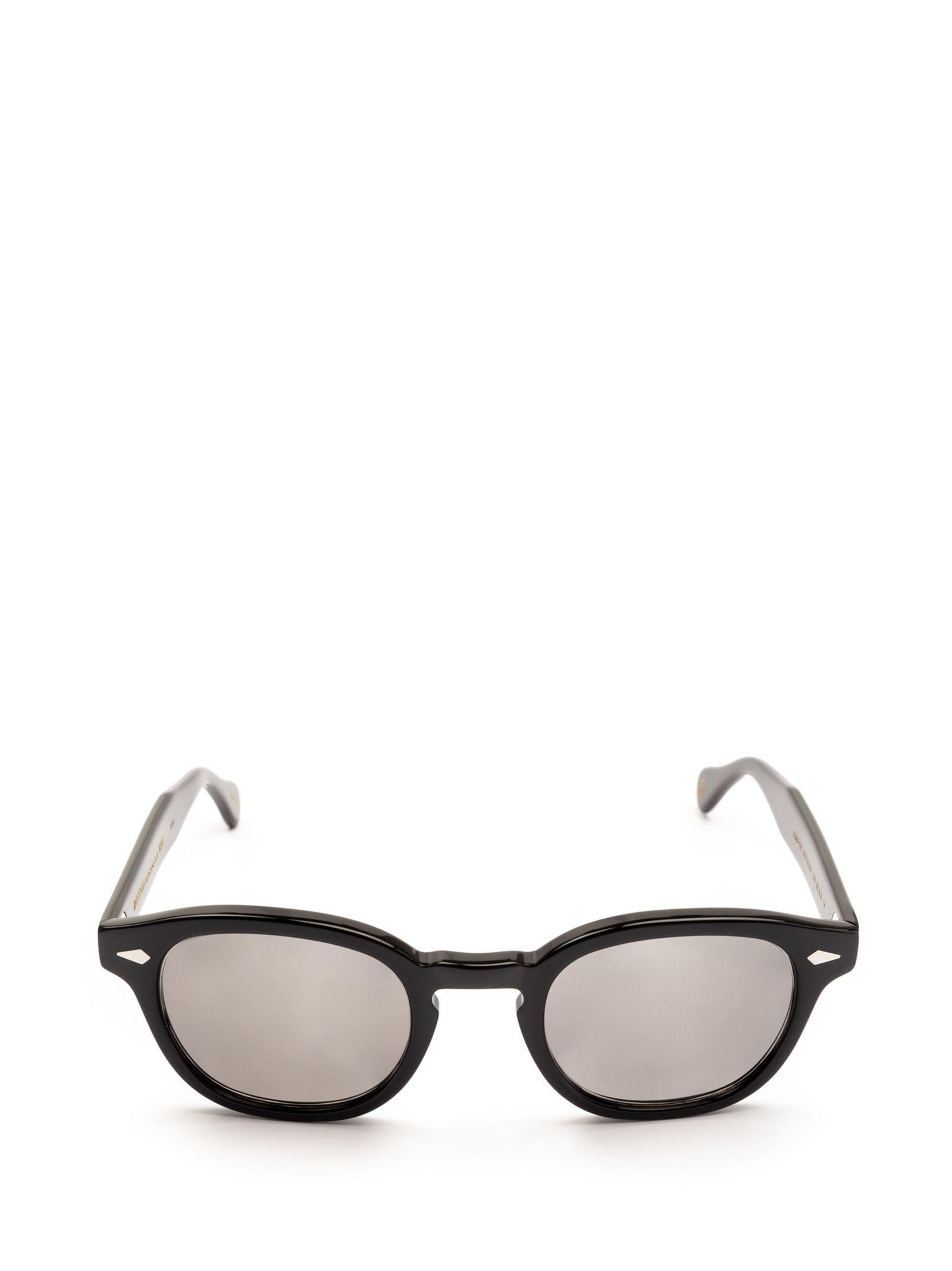 3cc99ba36377 Moscot Black Acetate Sunglasses in Black for Men - Lyst
