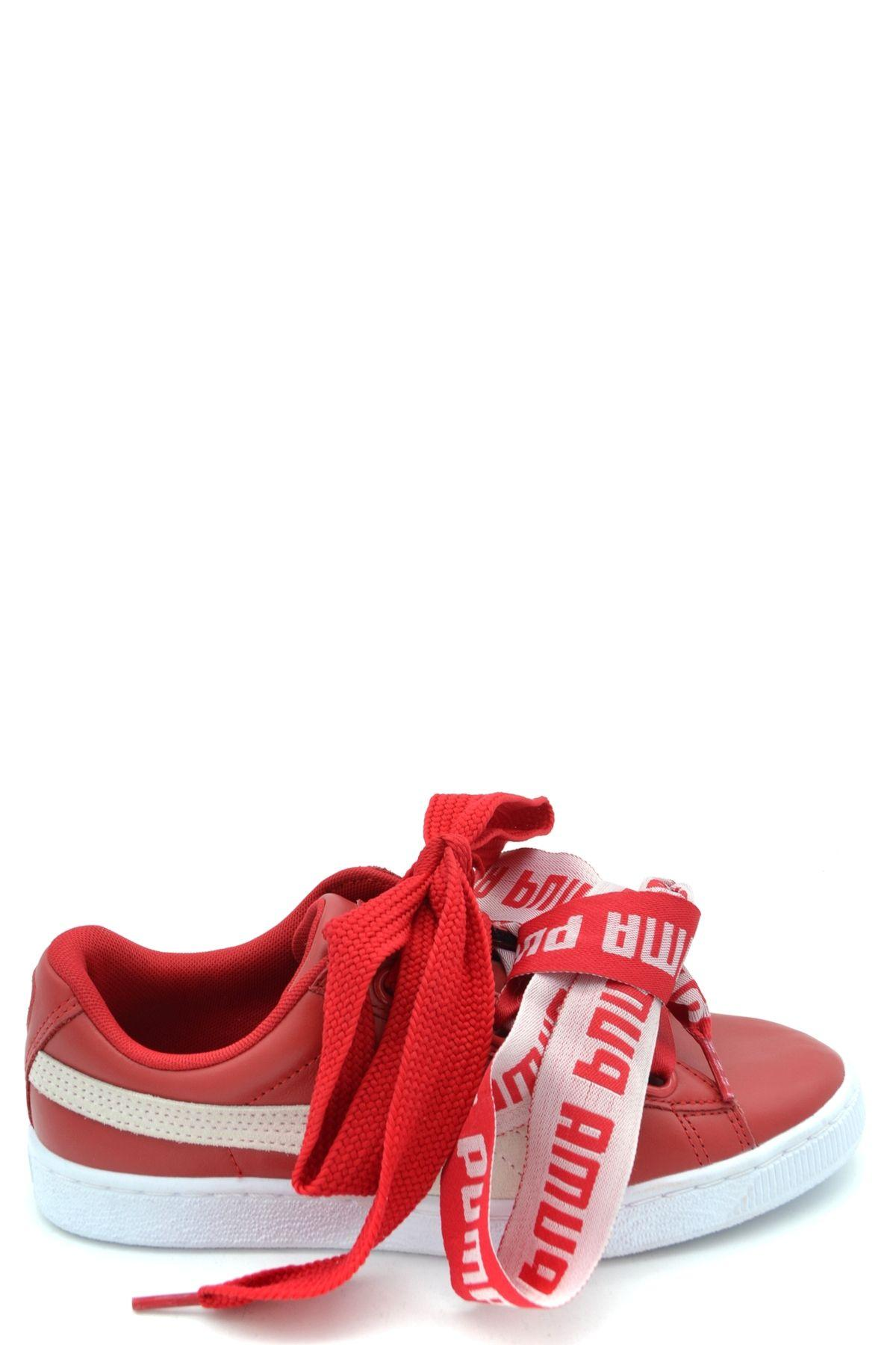 PUMA Trainers in Red/White (Red) - Lyst