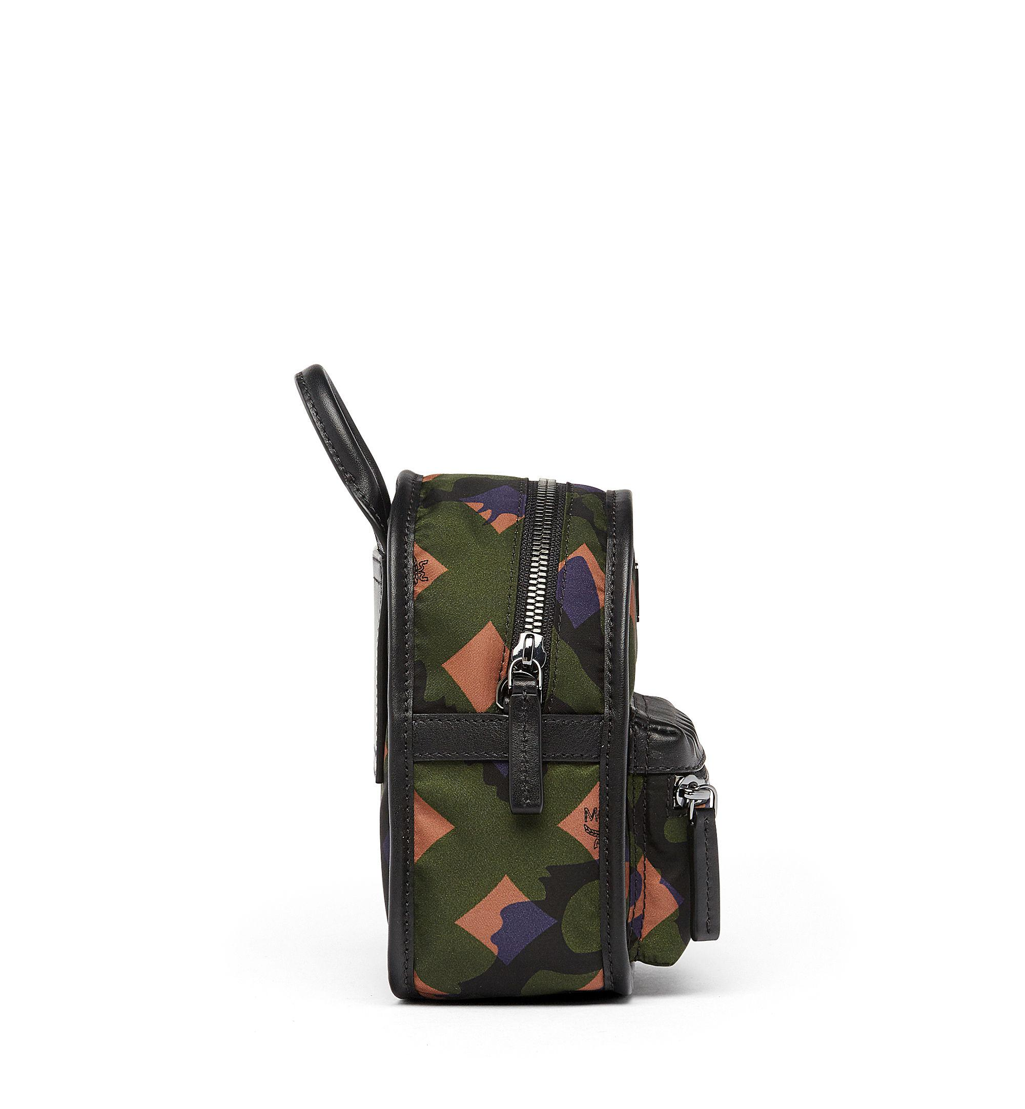 MCM Synthetic Dieter Crossbody In Munich Lion Camo in Green for Men