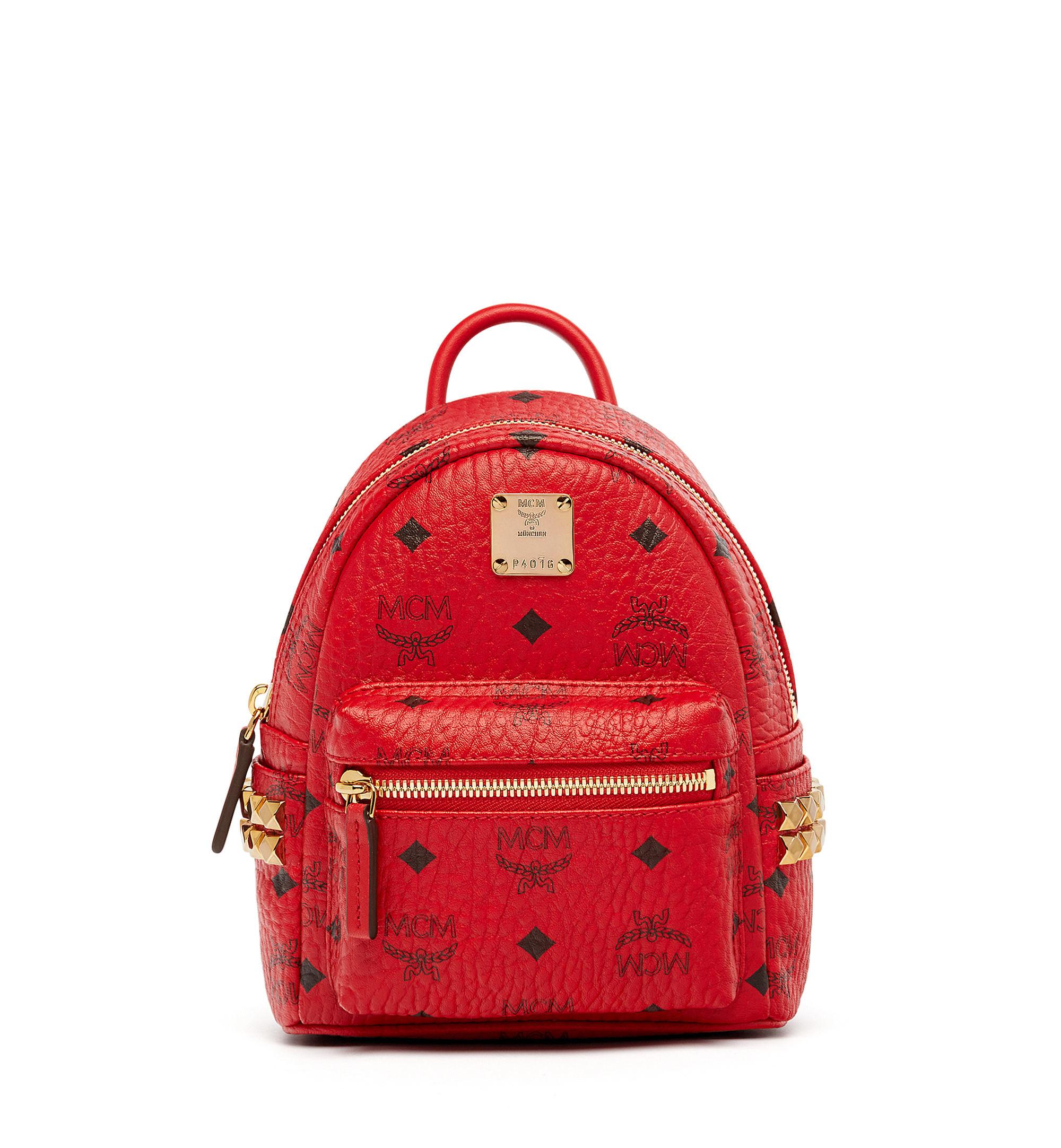 mcm polke studs backpack in multicolor save 15 lyst. Black Bedroom Furniture Sets. Home Design Ideas
