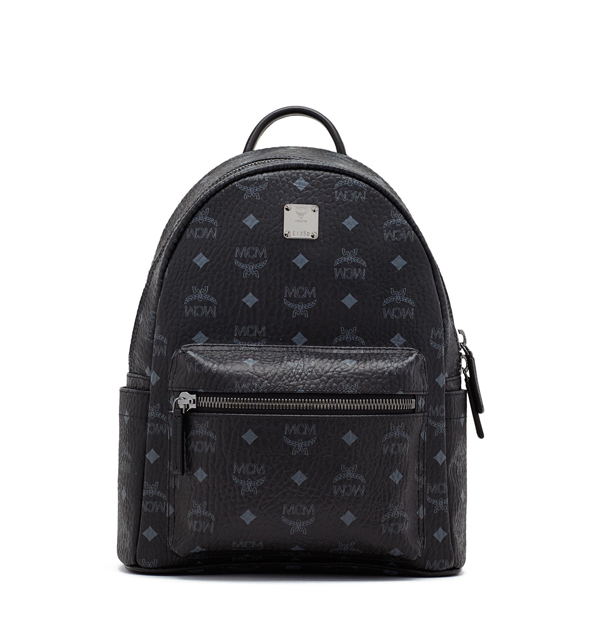 mcm stark backpack in black for men save 4 lyst. Black Bedroom Furniture Sets. Home Design Ideas