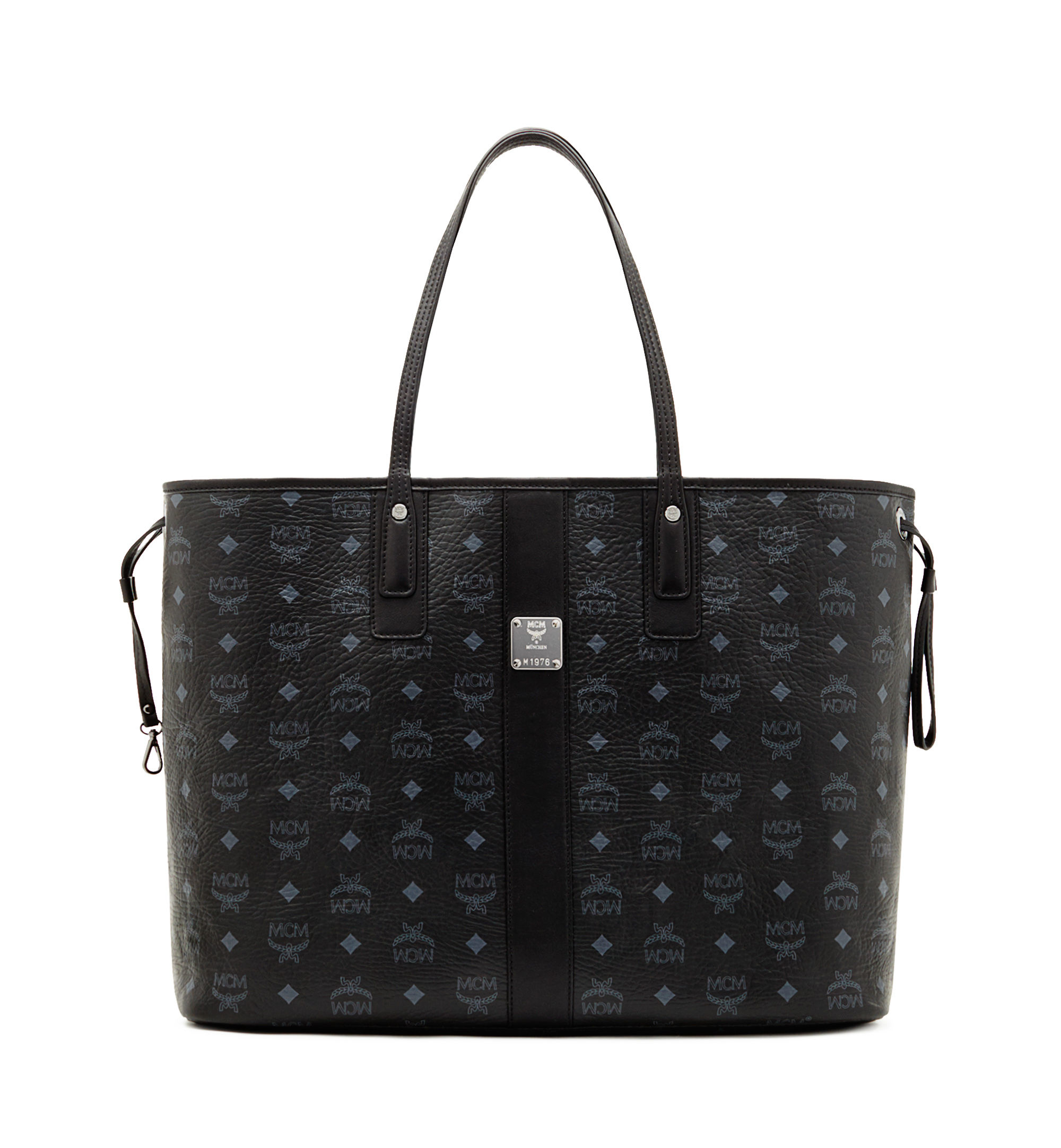 mcm large liz tote in black lyst. Black Bedroom Furniture Sets. Home Design Ideas