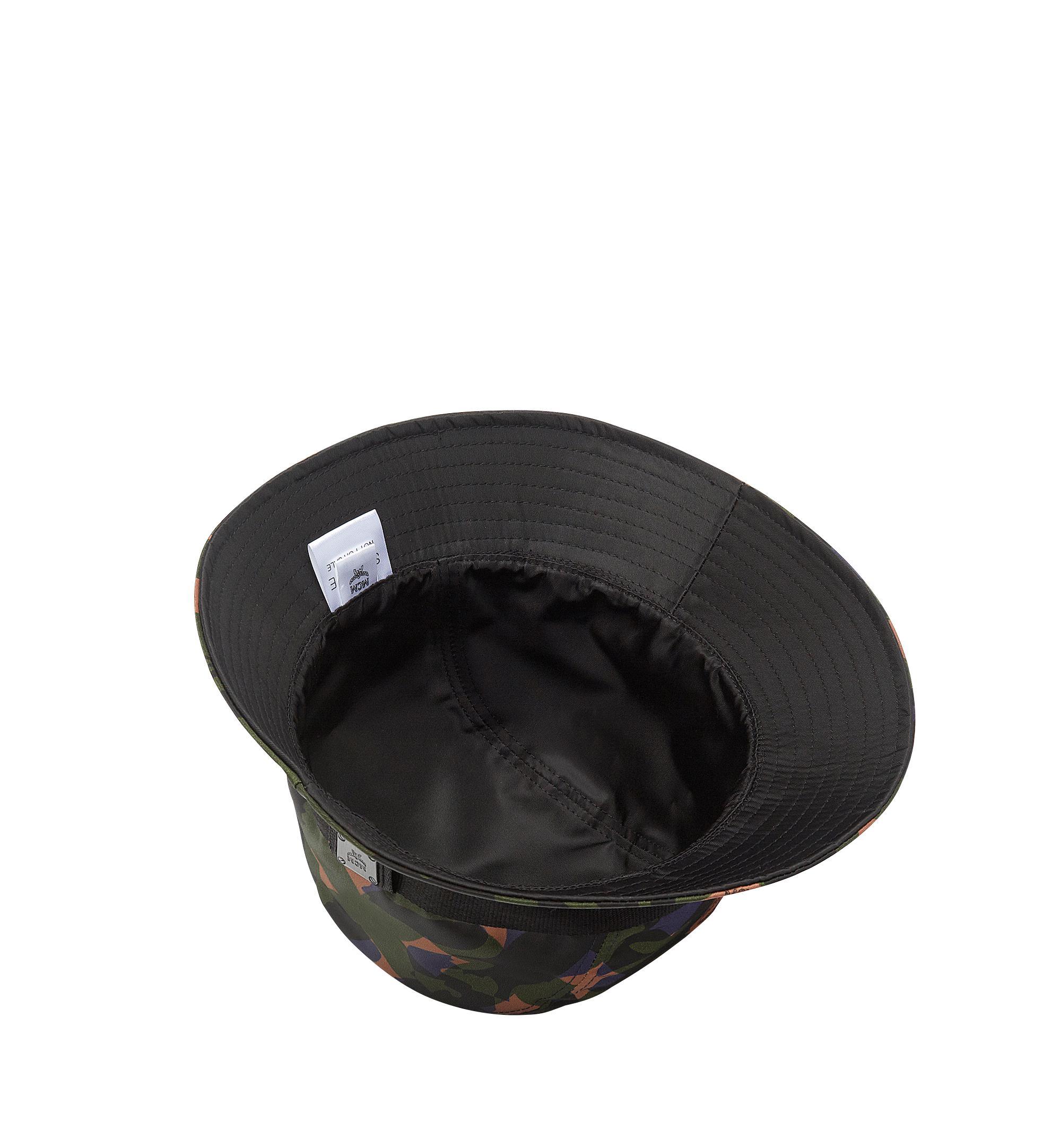 6c8f28b5af652 uk lyst mcm bucket hat in camo nylon in green 042c4 e7795