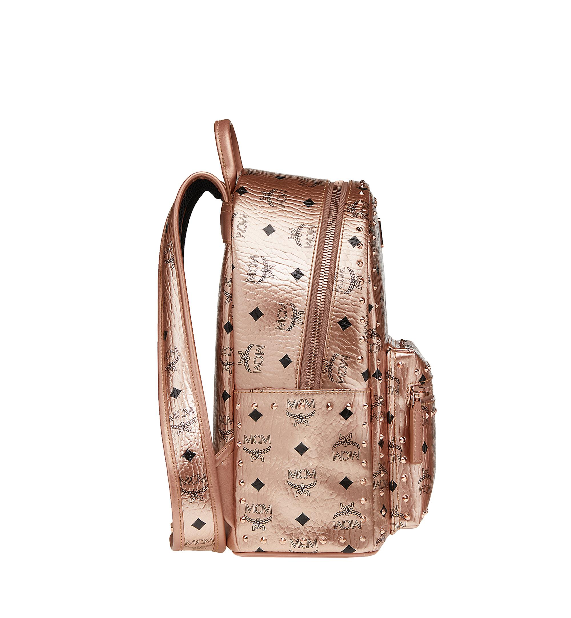 abfa31067fc8 MCM - Multicolor Stark Backpack In Studded Outline Visetos - Lyst. View  fullscreen