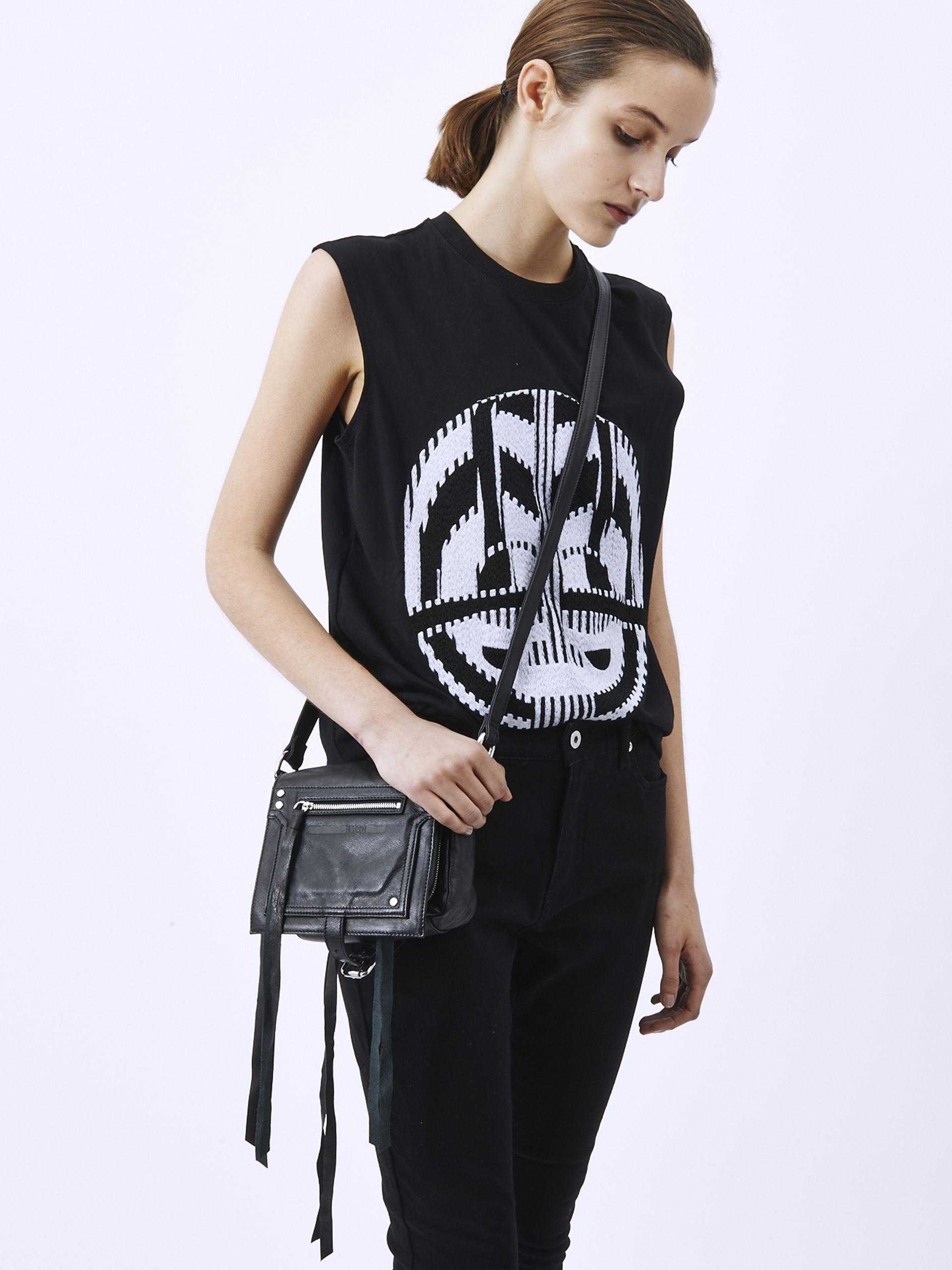 44d4c85c675da McQ Loveless Mini Cross Body Bag in Black - Lyst