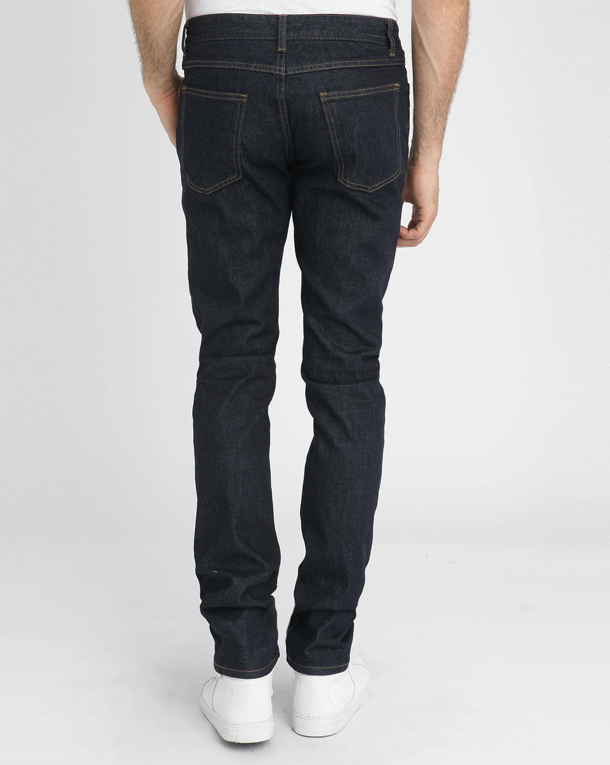 closed dark denim slim fit jeans in blue for men lyst. Black Bedroom Furniture Sets. Home Design Ideas