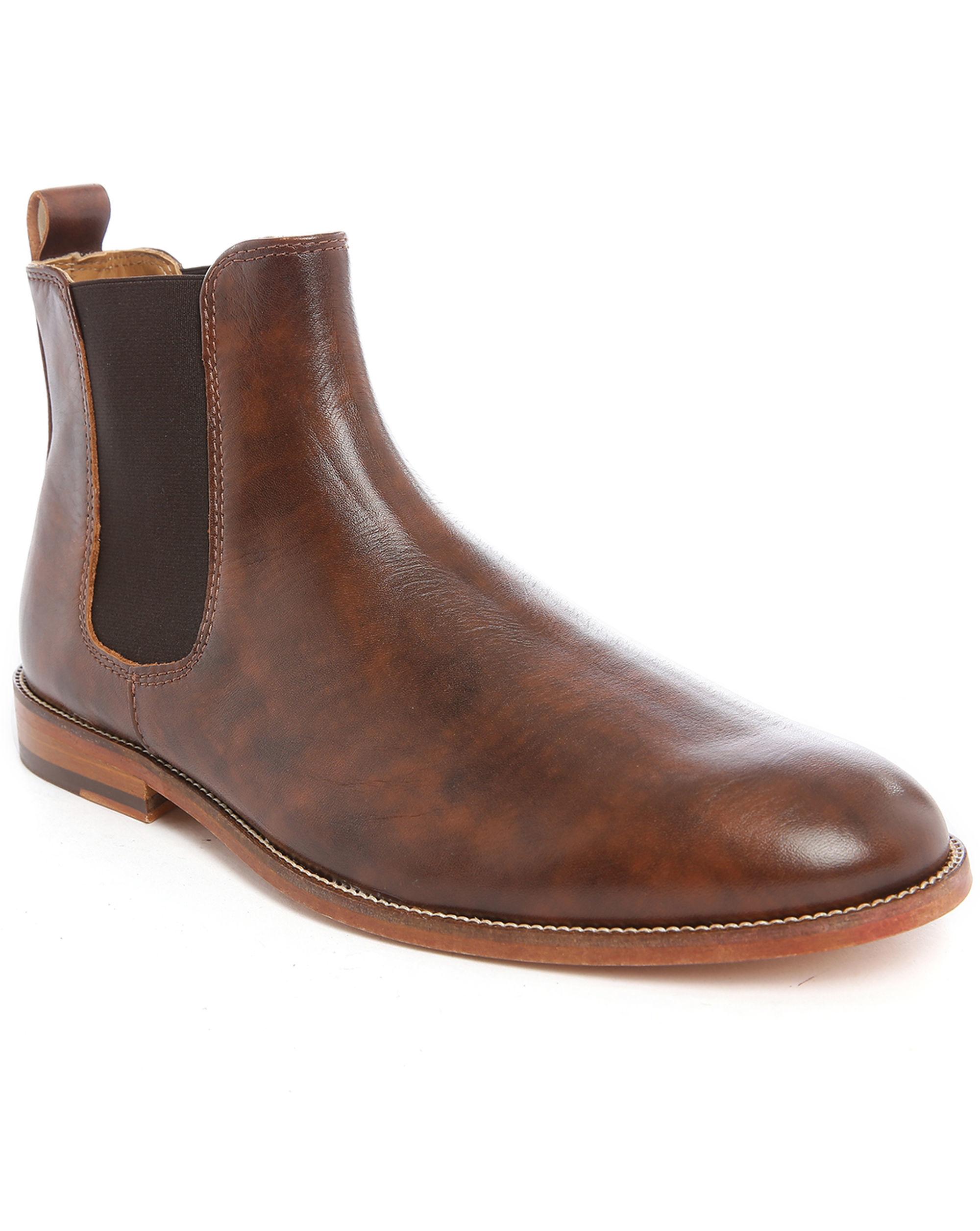 bobbies l horloger cognac leather chelsea boots in brown for men. Black Bedroom Furniture Sets. Home Design Ideas