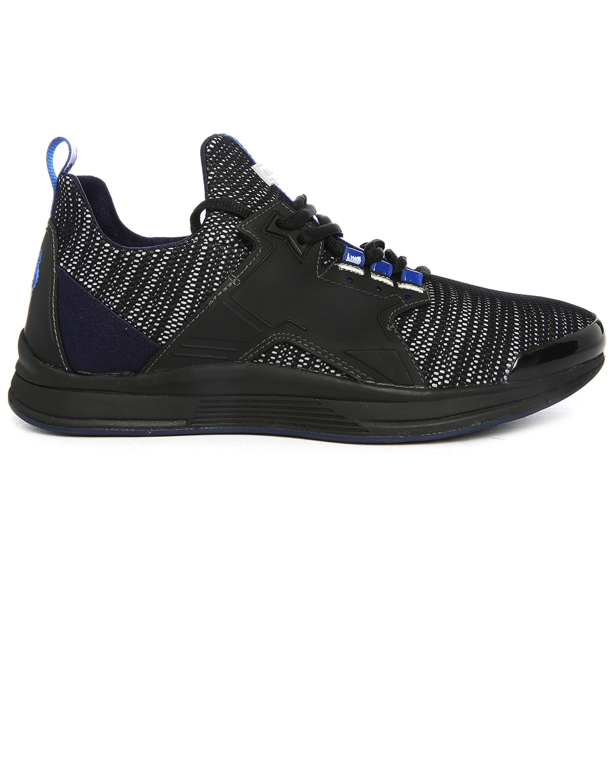 Kenzo Black Ozzy Running Shoes in Black for Men