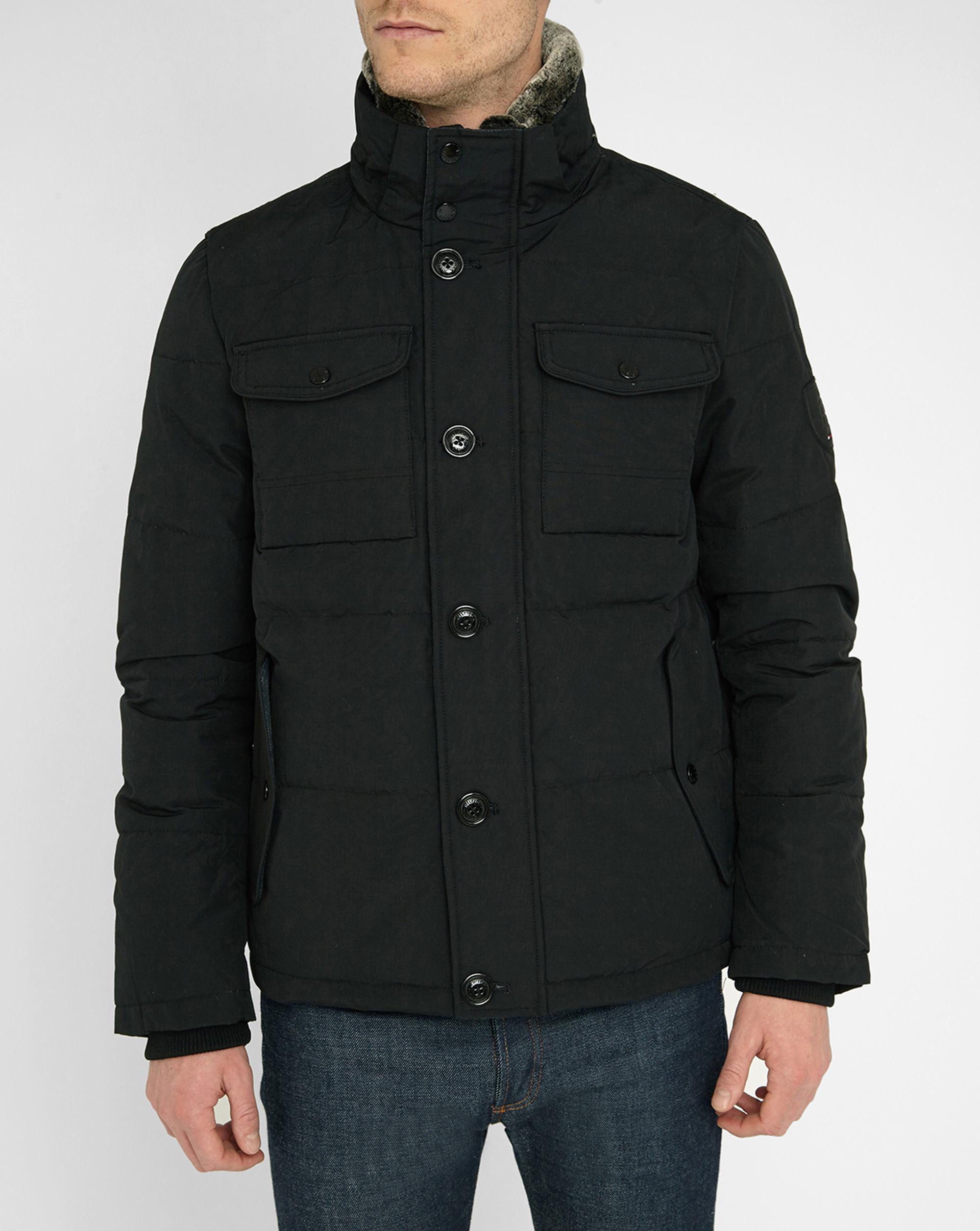 1f3337813 Tommy Hilfiger Winter Coat. tommy hilfiger solid royal blue puffer ...