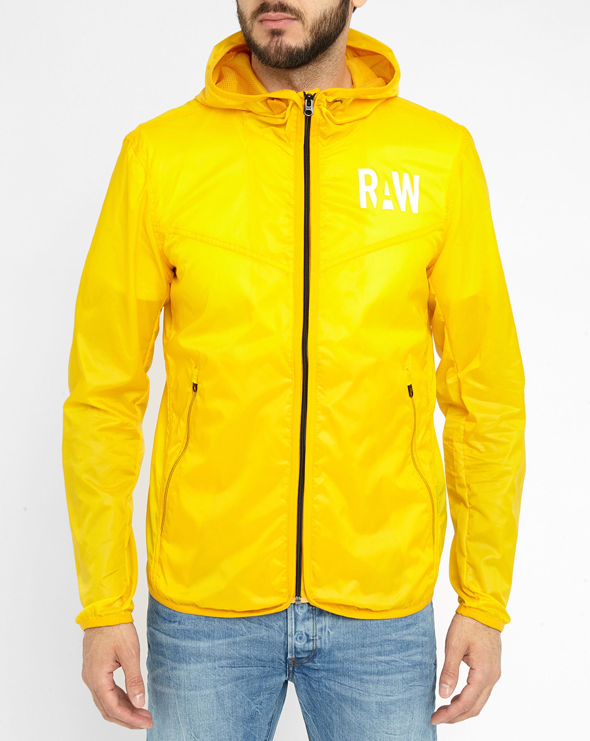 g star raw yellow packable waterproof jacket in. Black Bedroom Furniture Sets. Home Design Ideas
