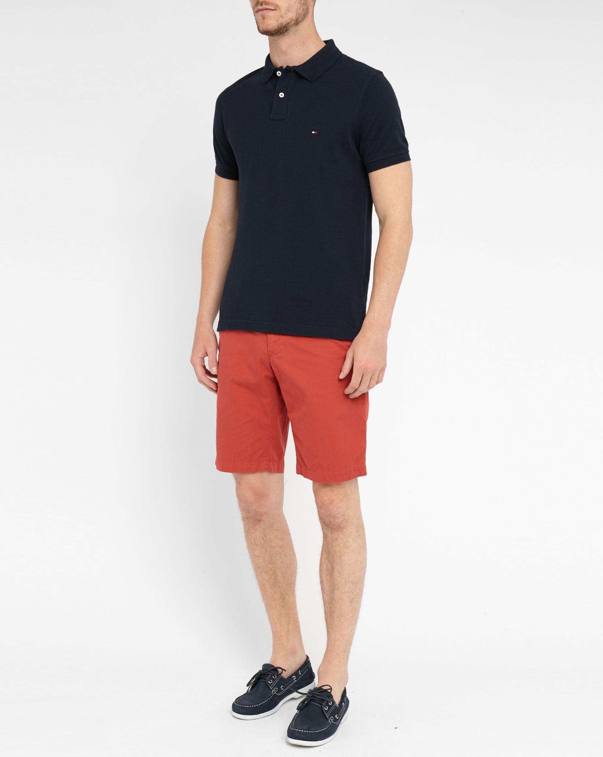 tommy hilfiger midnight blue pr slim fit polo shirt in blue for men. Black Bedroom Furniture Sets. Home Design Ideas
