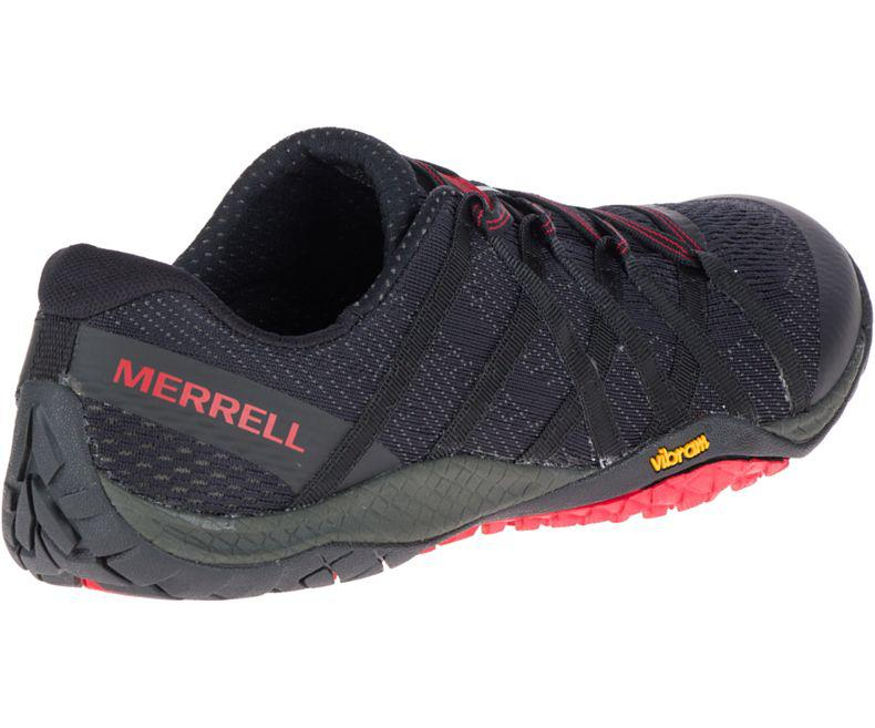 merrell trail glove 4 e-mesh black top
