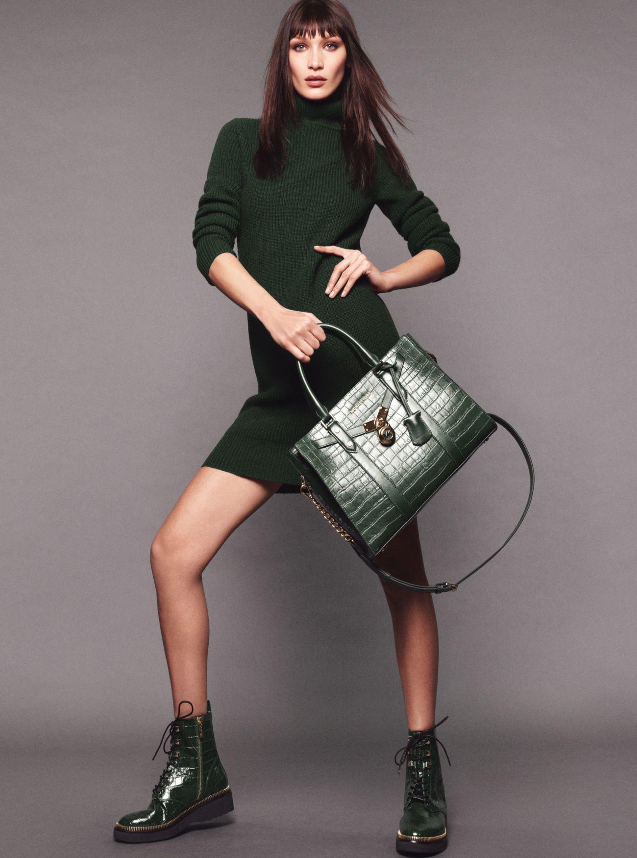 Grand sac porté main Nouveau Hamilton en cuir effet crocodile en relief