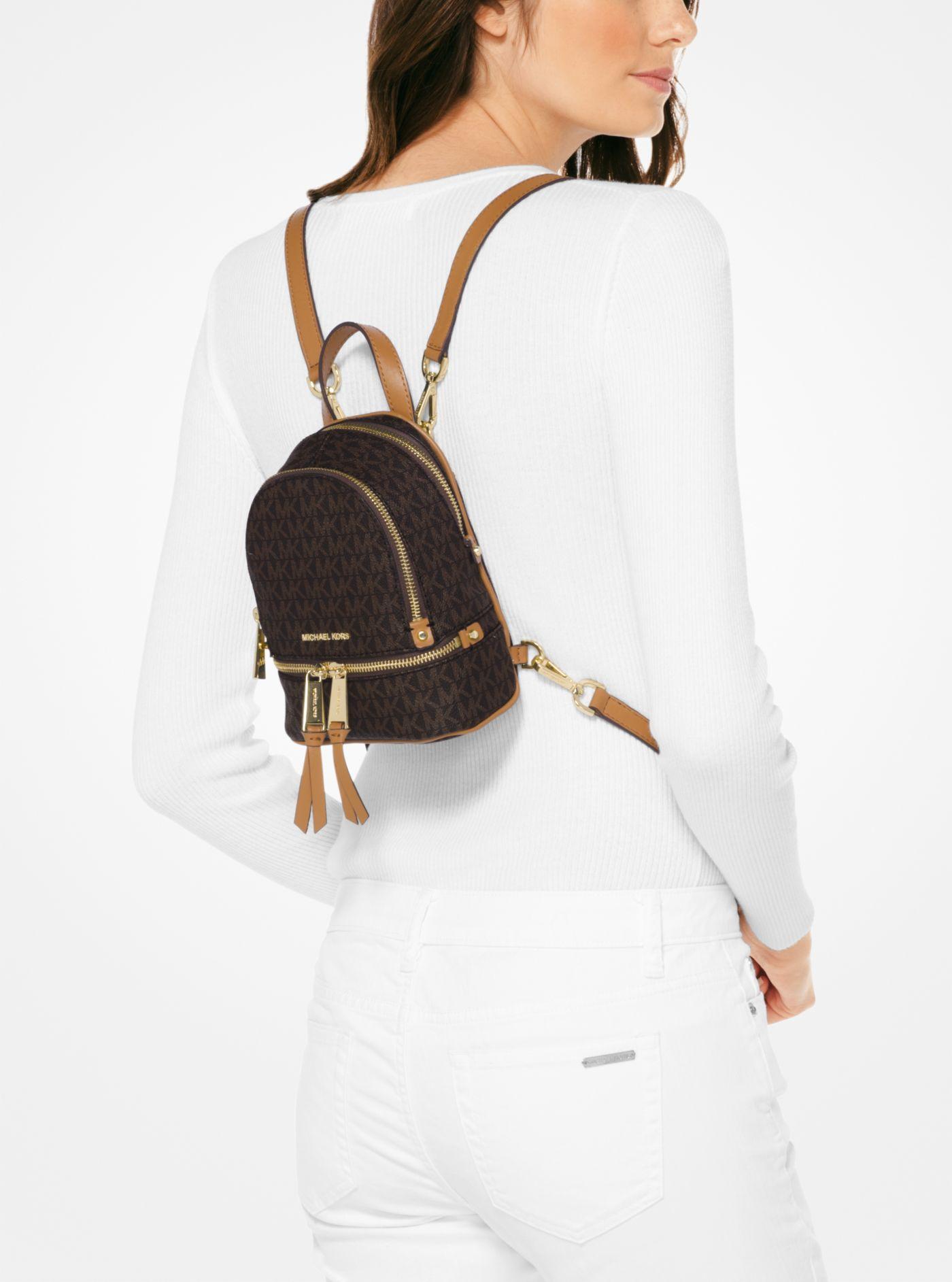 Michael Rhea Logo Backpack