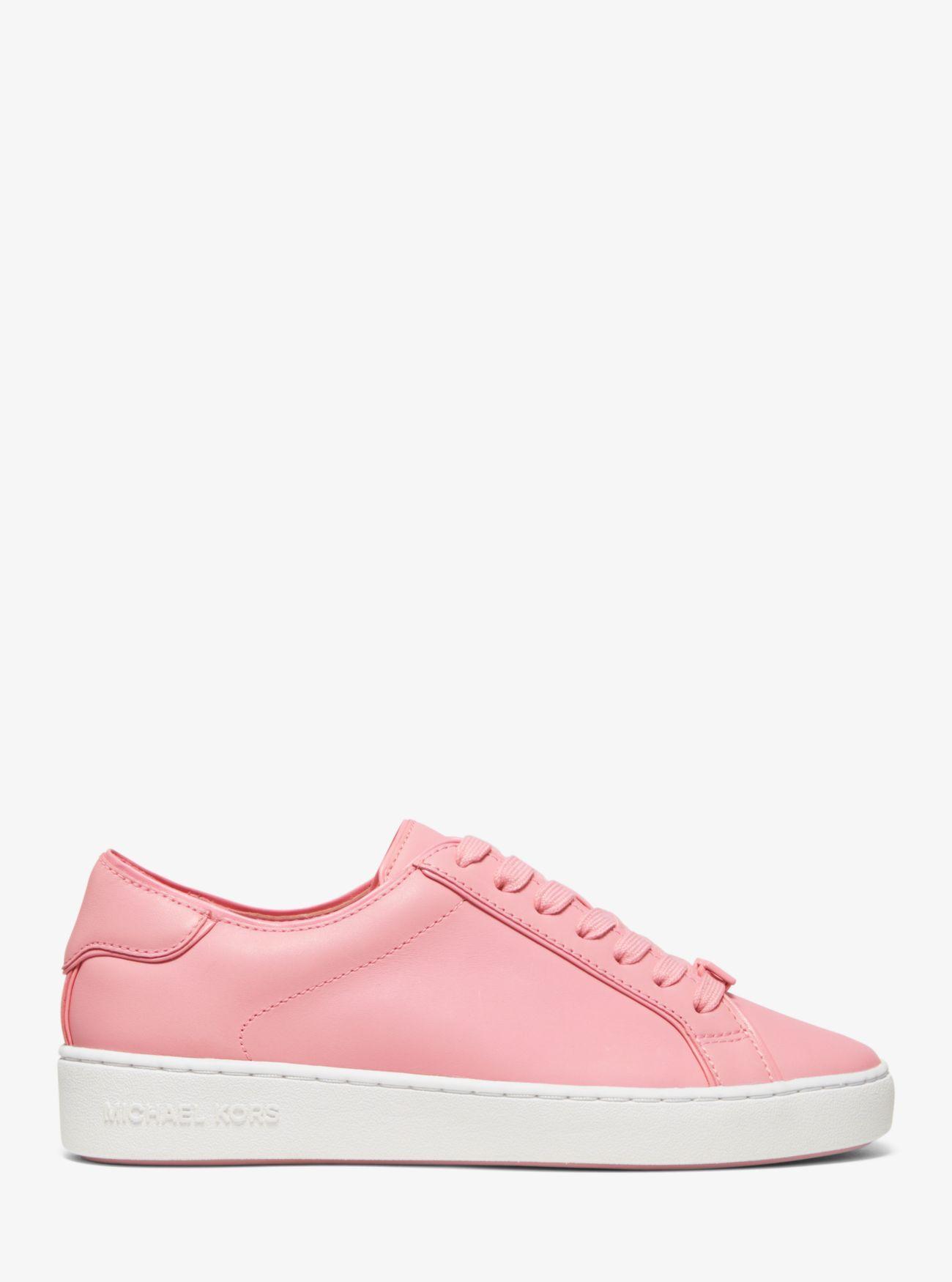 Michael Kors Harper Leather Sneaker in