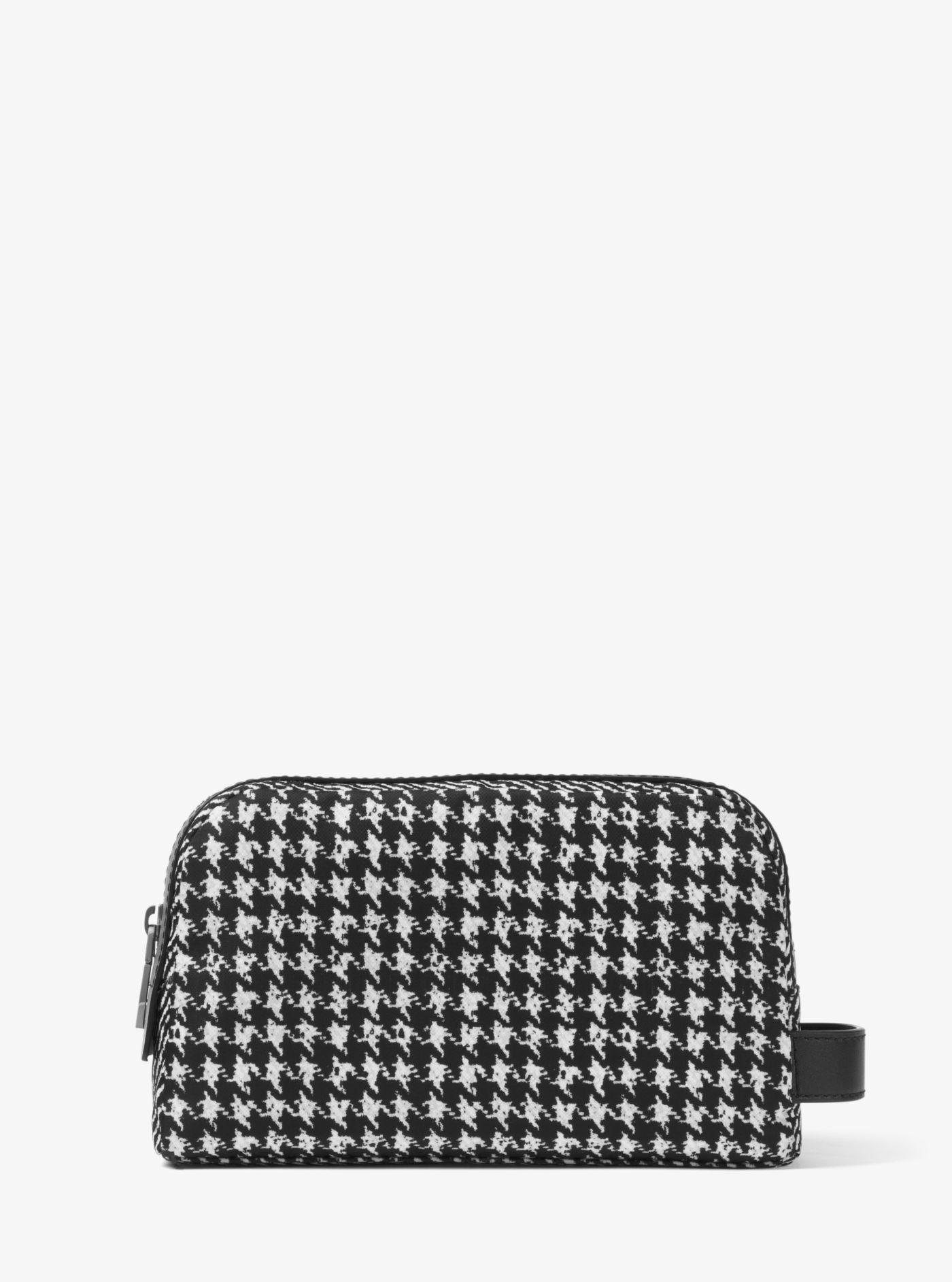 e2a8beaafdd2 ... where to buy michael kors black kent small printed nylon travel pouch  for men lyst.
