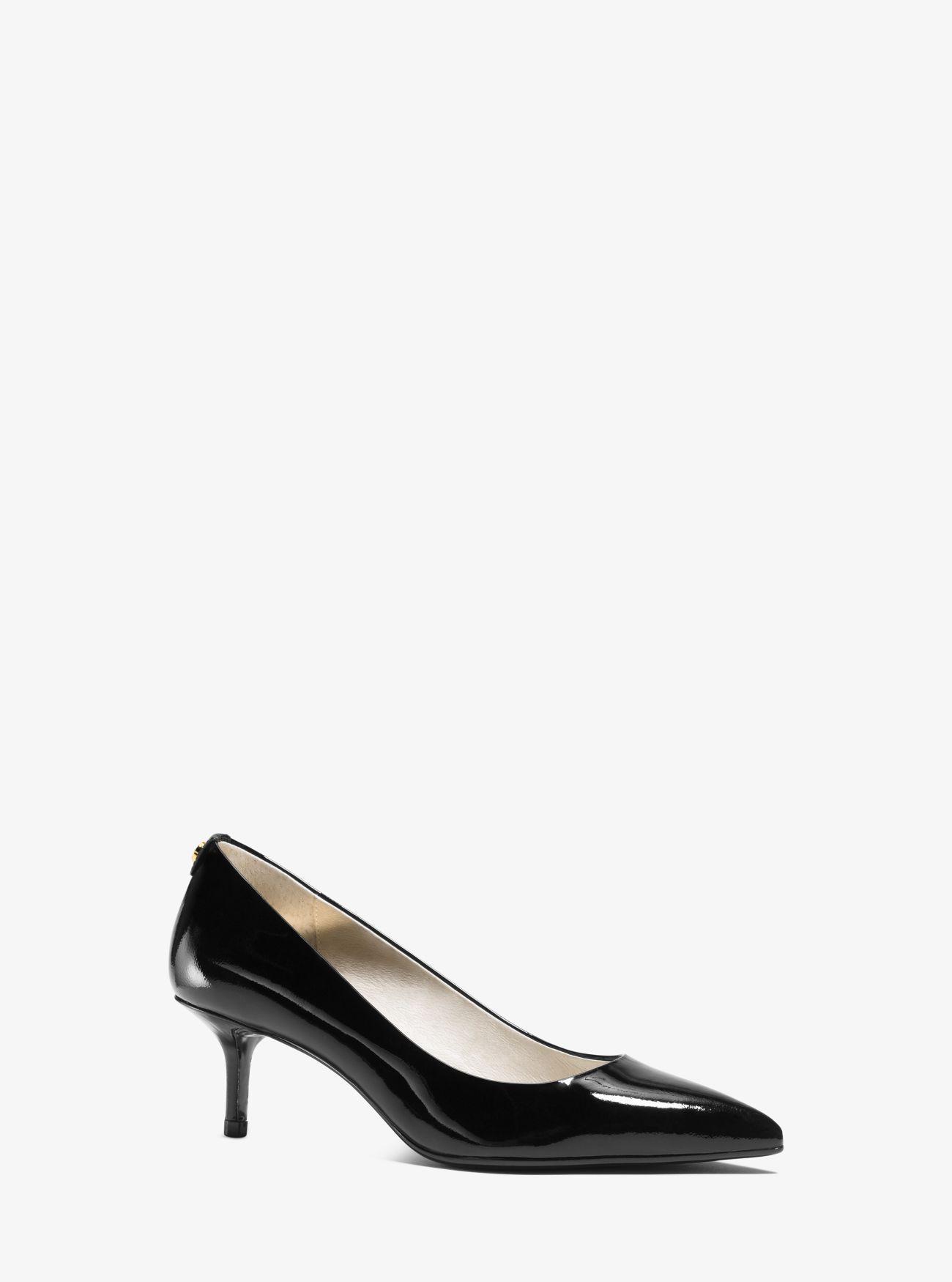 d577c5607da9 Lyst - MICHAEL Michael Kors Flex Patent-leather Kitten-heel Pump in ...