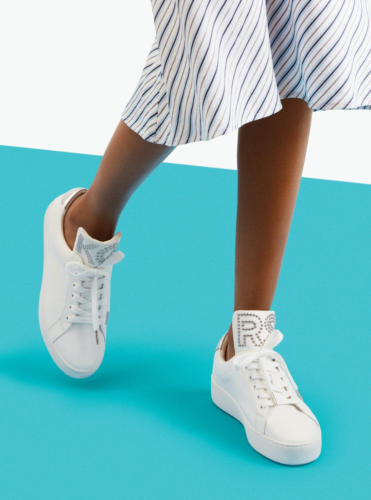 michael kors studded sneakers