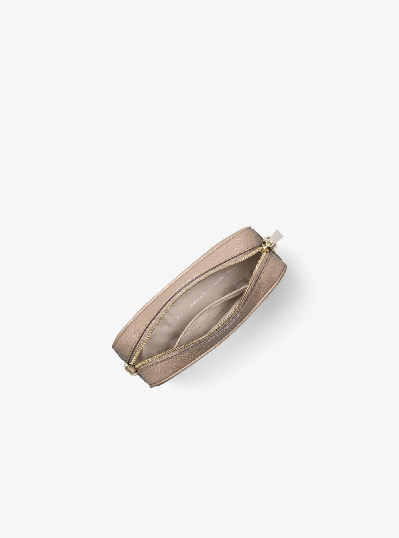 b332074667 Michael Kors - Brown Sac à bandoulière Ginny de taille moyenne en cuir  grainé - Lyst. Afficher en plein écran