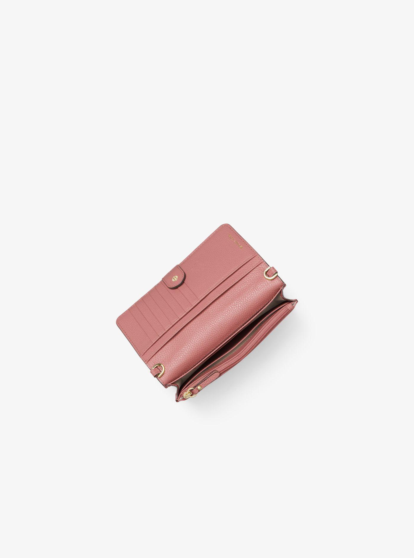 Pebbled Leather Convertible Crossbody Bag MICHAEL Michael Kors