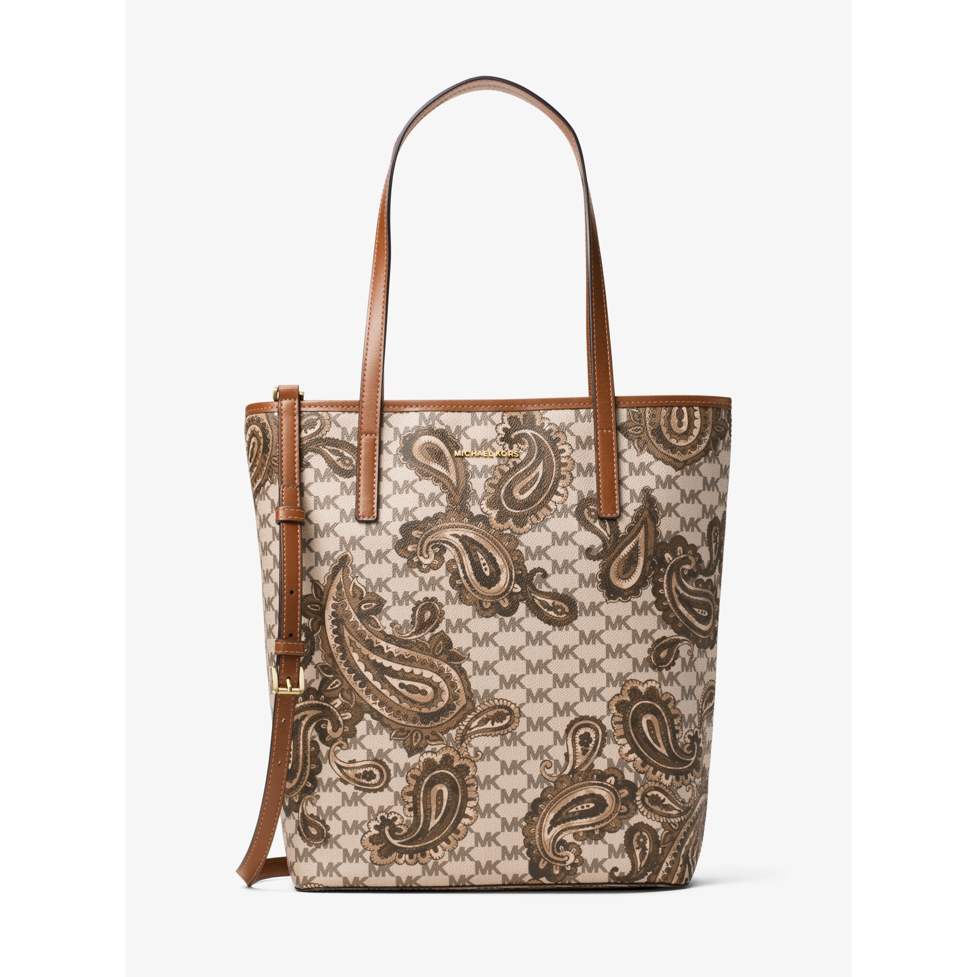 6537b8c904 ... australia lyst michael kors emry large north south heritage paisley tote  in 38a33 0e7cf