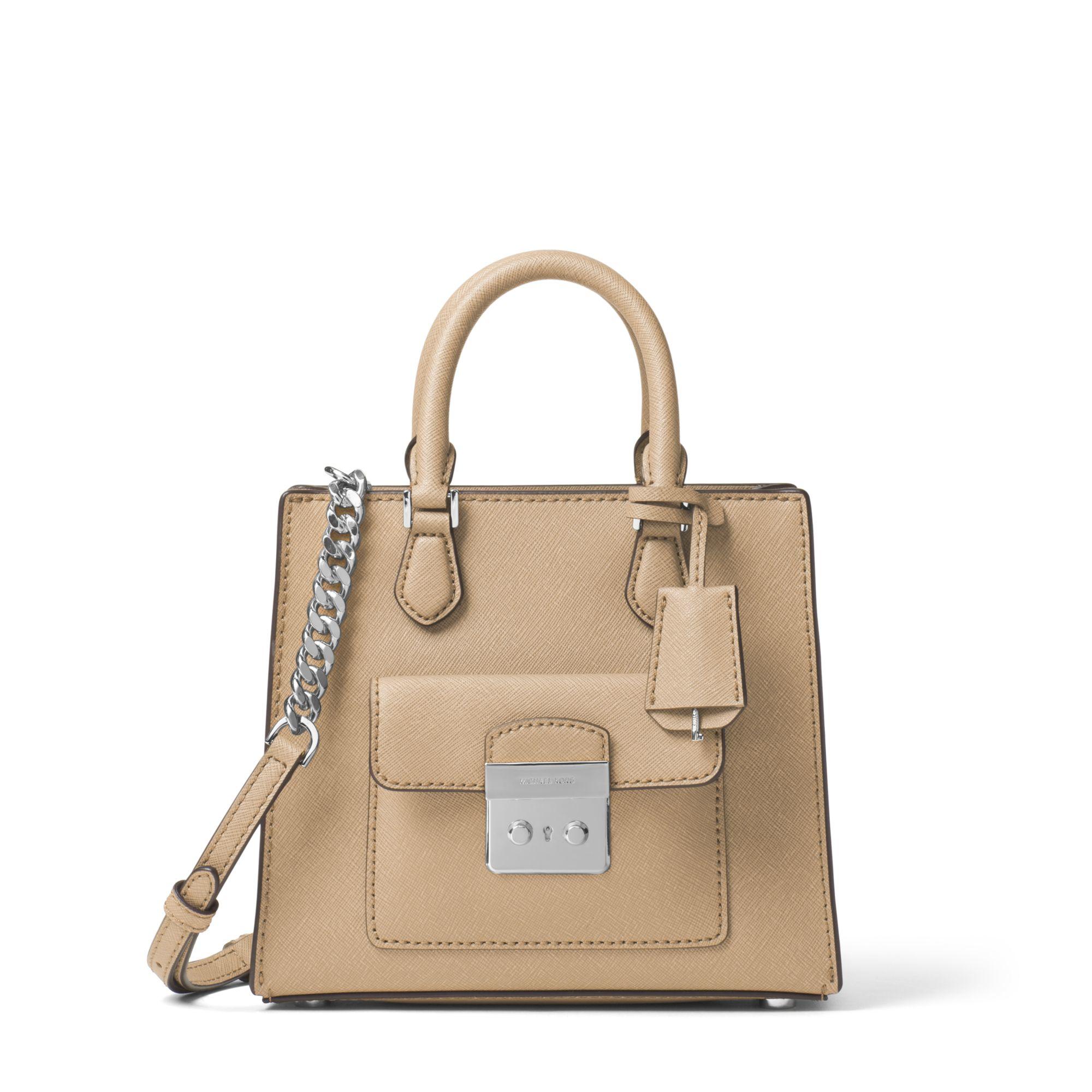 26ab5f236f24 Michael Kors Bridgette Small Saffiano Leather Cross-Body Bag in ...