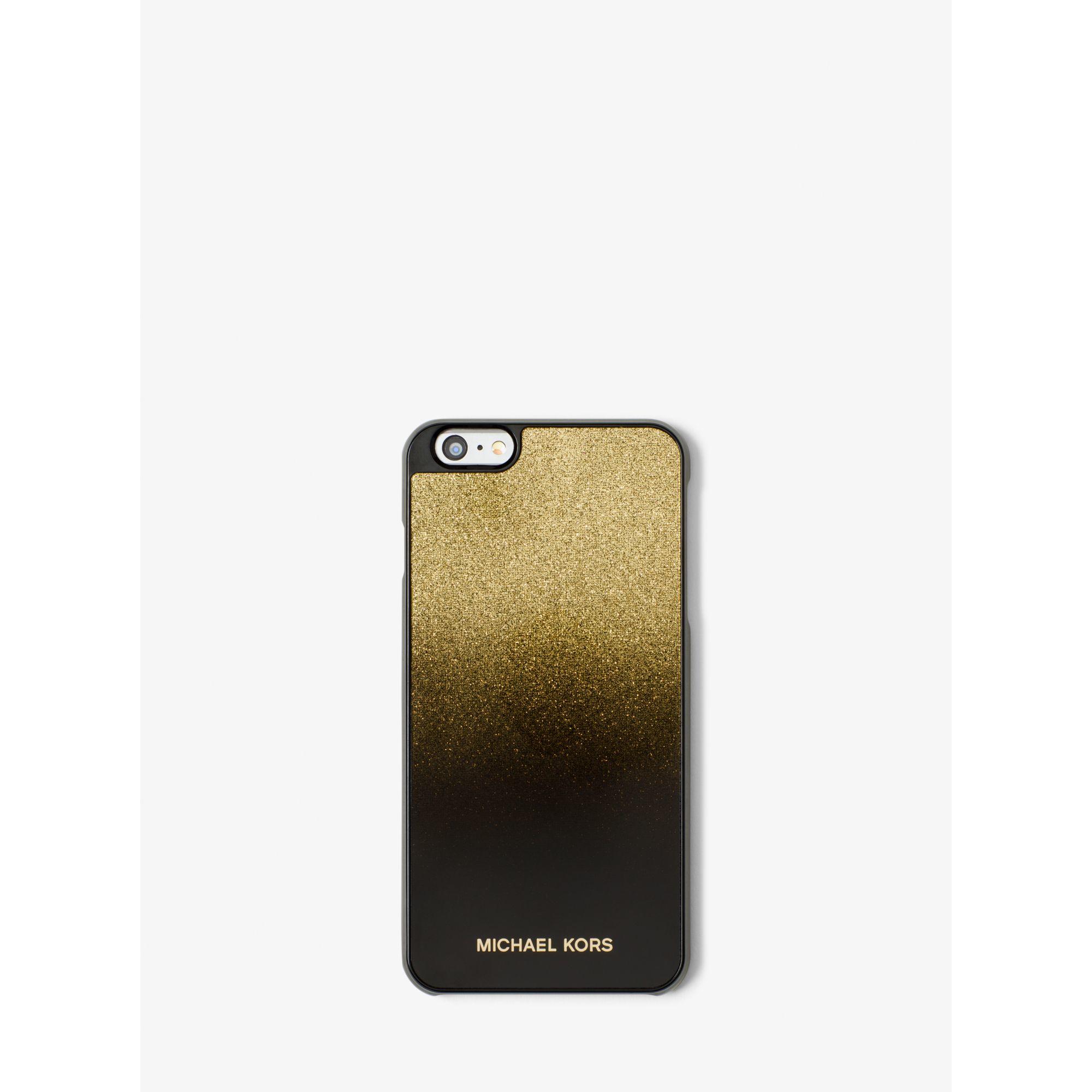 michael kors metallic ombr phone case for iphone 6 plus 6s plus in. Black Bedroom Furniture Sets. Home Design Ideas
