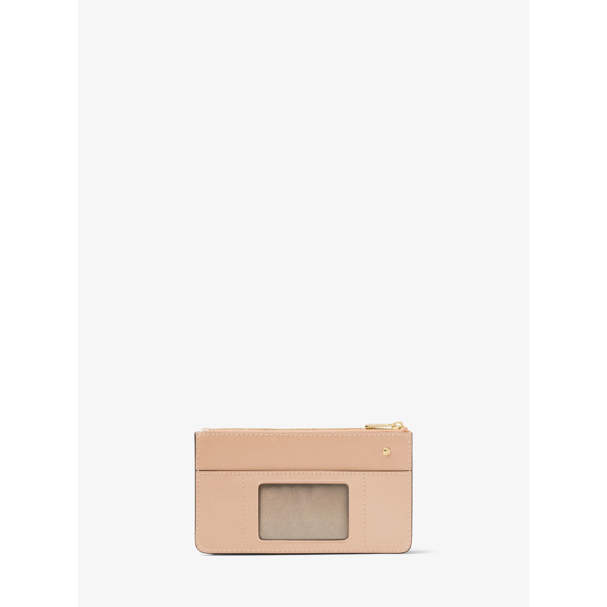 da95973639df Lyst - Michael Kors Travel Patent-leather Smartphone Card Pouch