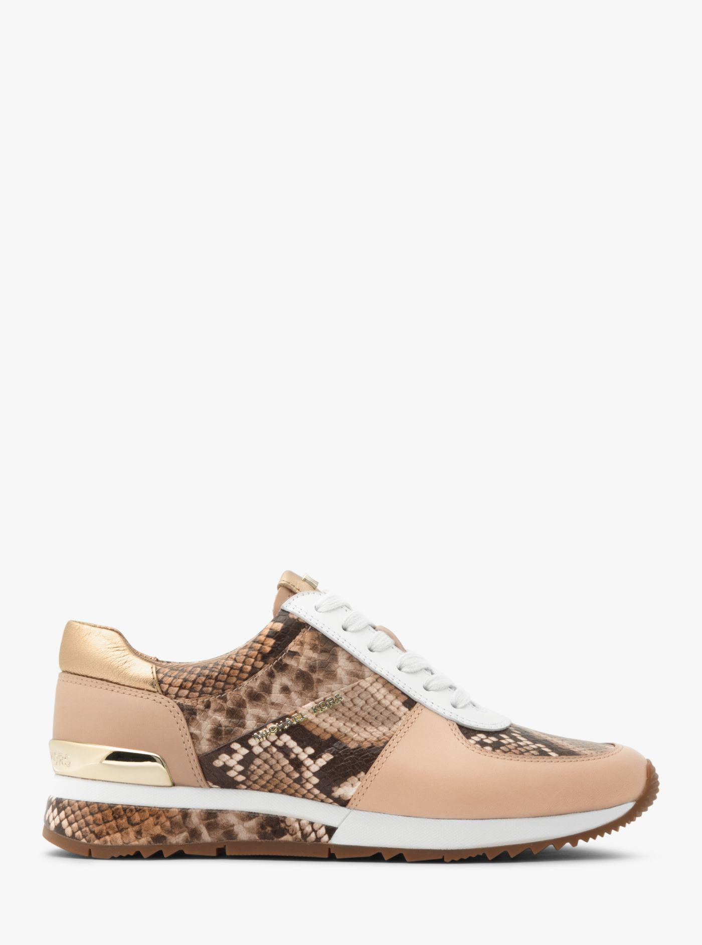 michael kors snake sneakers