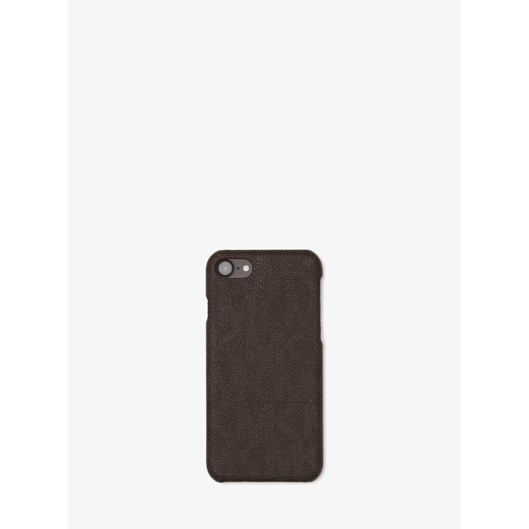 michael kors logo smartphone case for iphone 7 in brown lyst. Black Bedroom Furniture Sets. Home Design Ideas