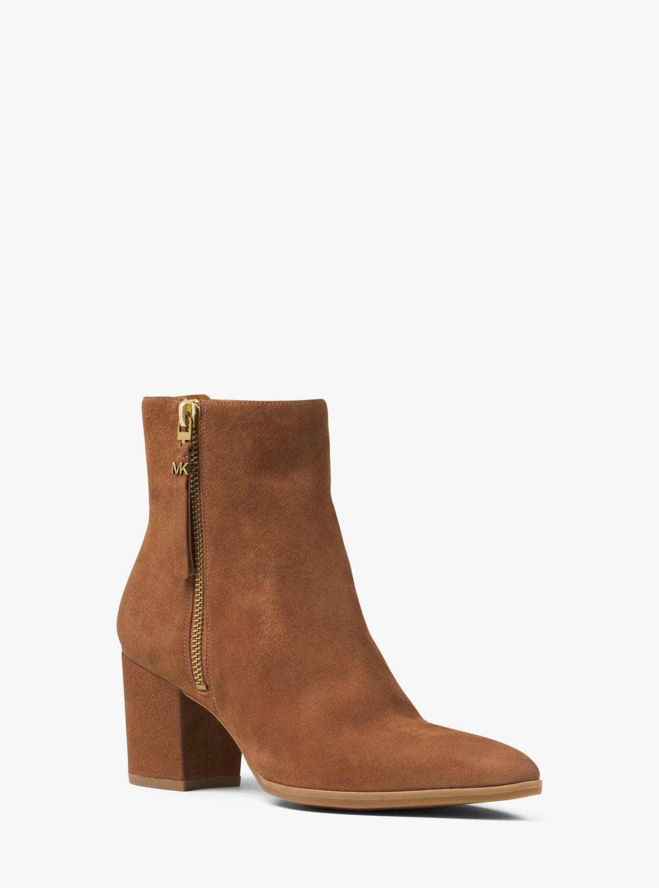 Michael Kors Brown Suede Shoes