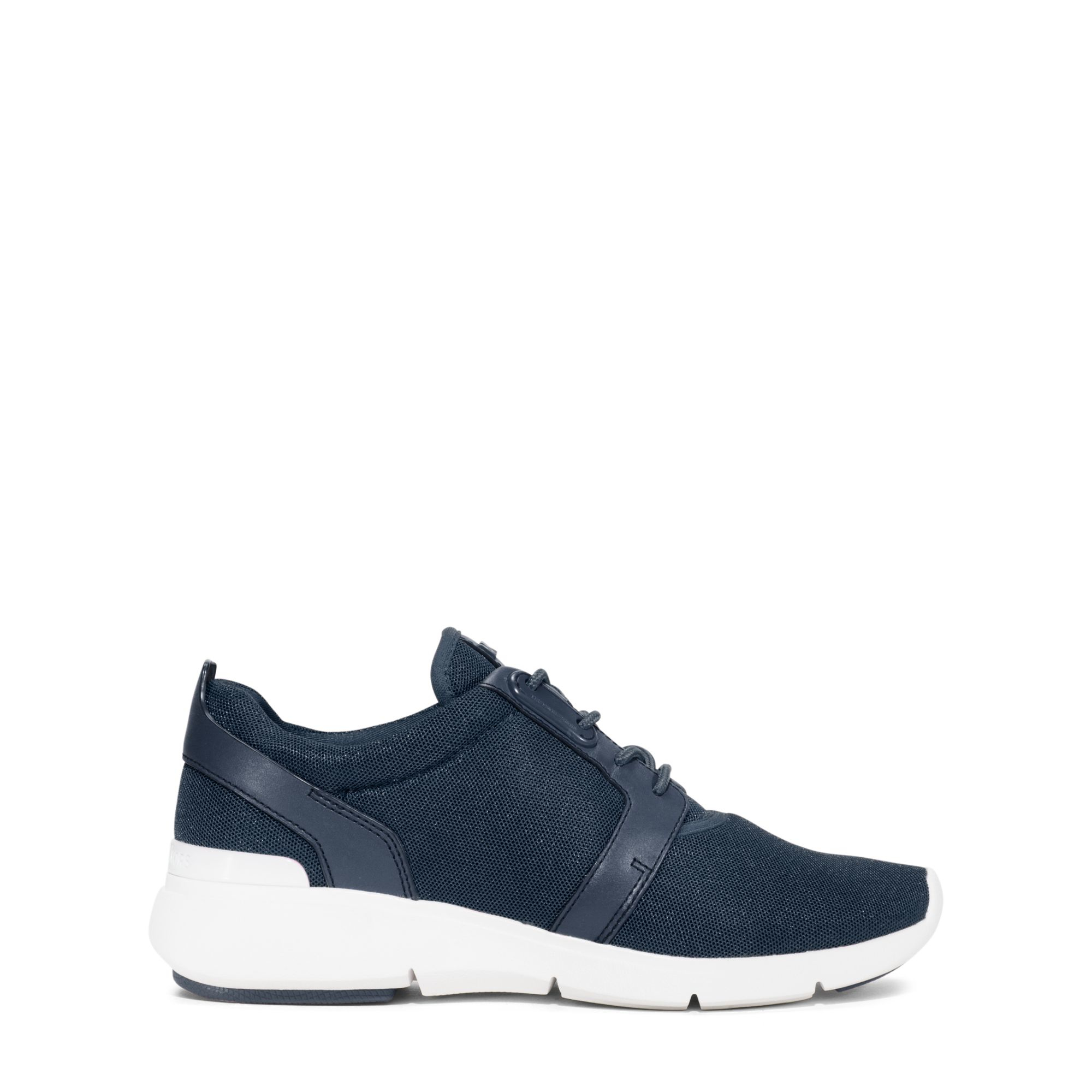 Michael kors Amanda Mesh And Leather Sneaker in Blue for ...