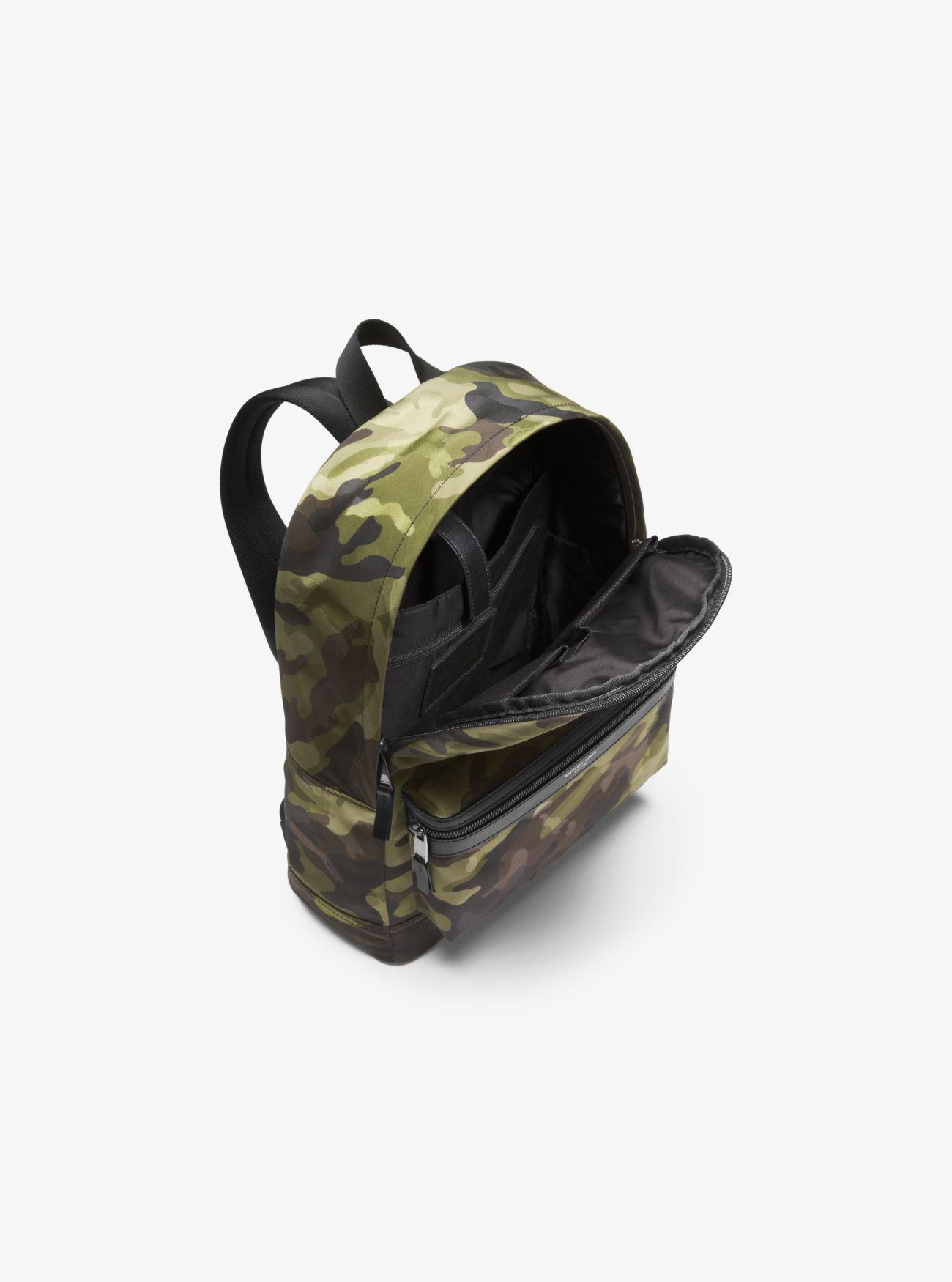 Michael Kors Synthetic Kent Camouflage Backpack