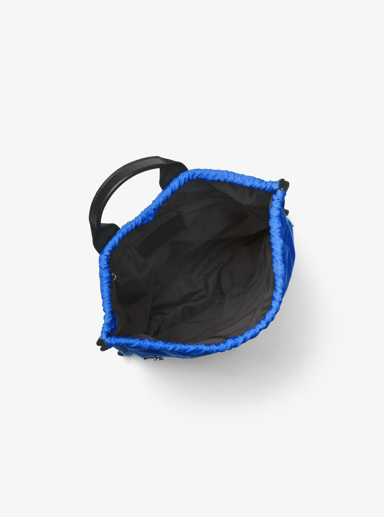 Michael Kors Synthetic Kent Nylon Drawstring Backpack in Cobalt (Blue) for Men