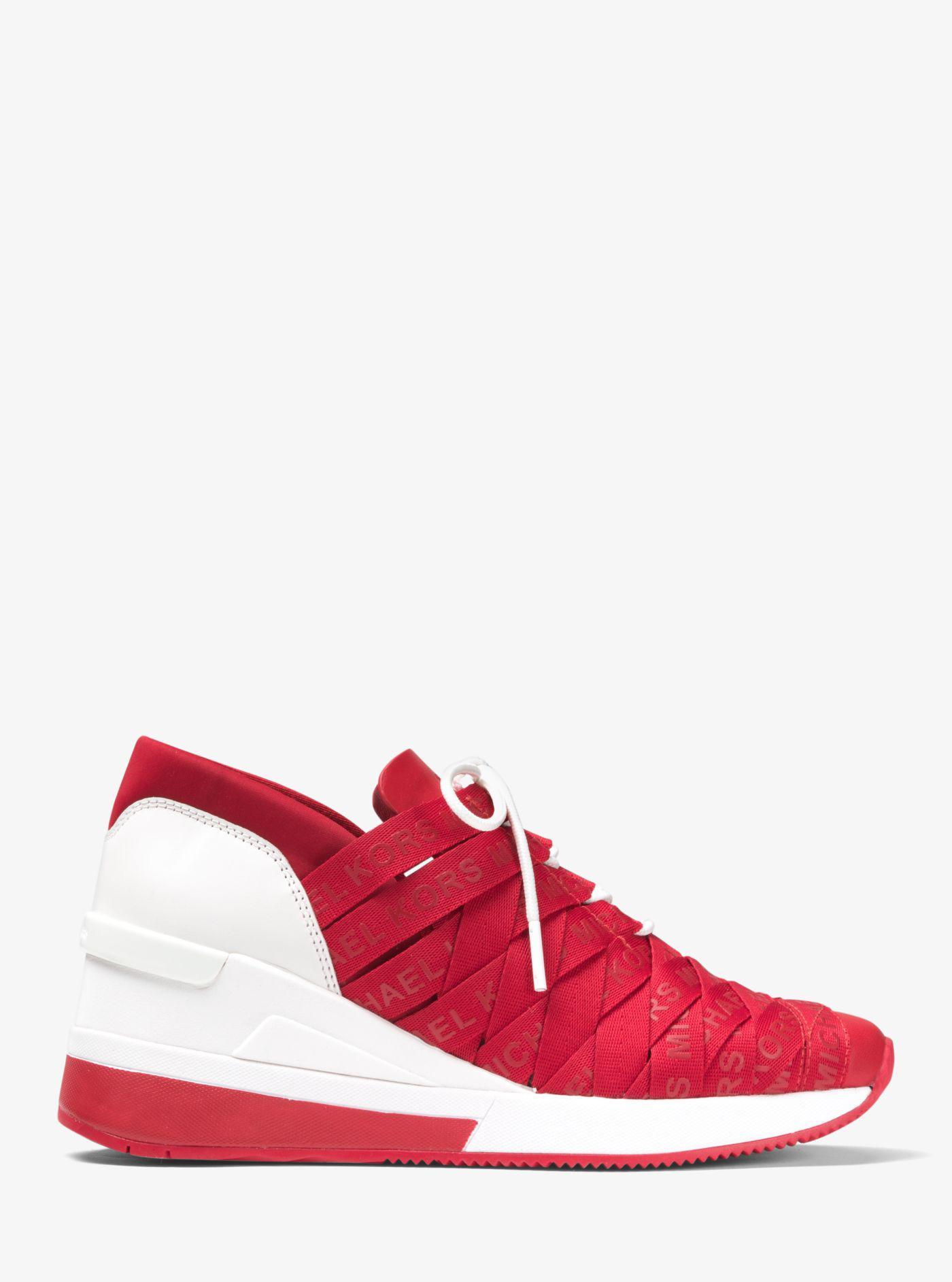 cydney logo webbed sneaker