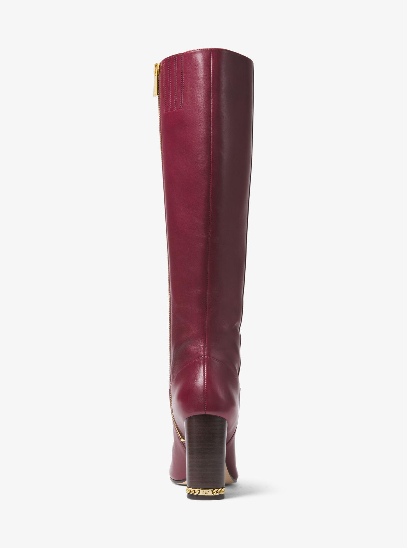 Michael Kors Walker Leather Boot in