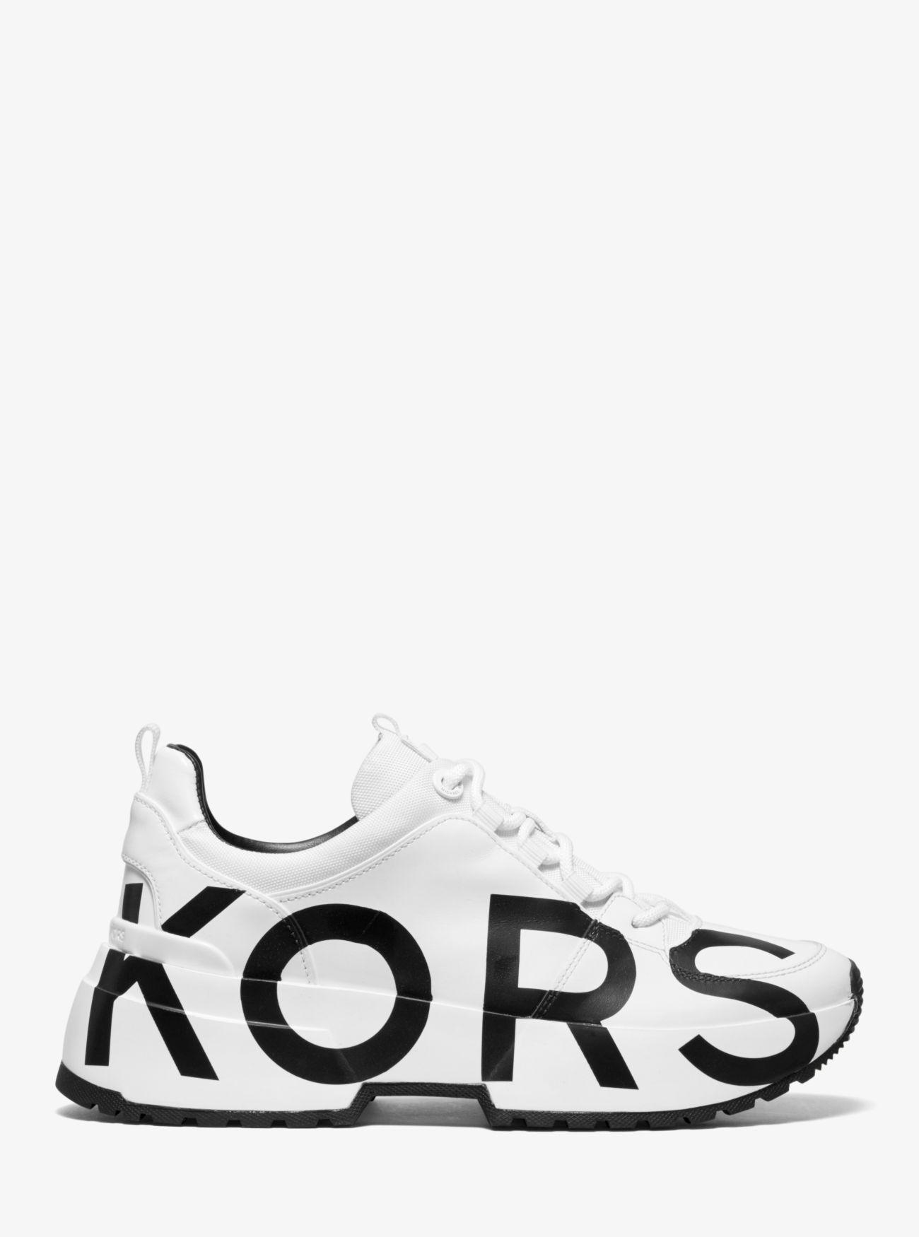 Michael Kors Cosmo Printed Leather