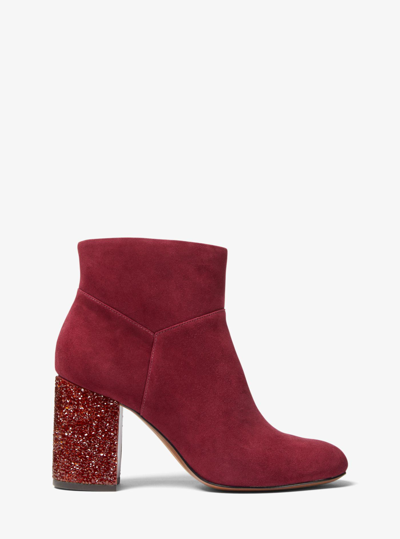 Michael Kors Cher Suede Ankle Boot in