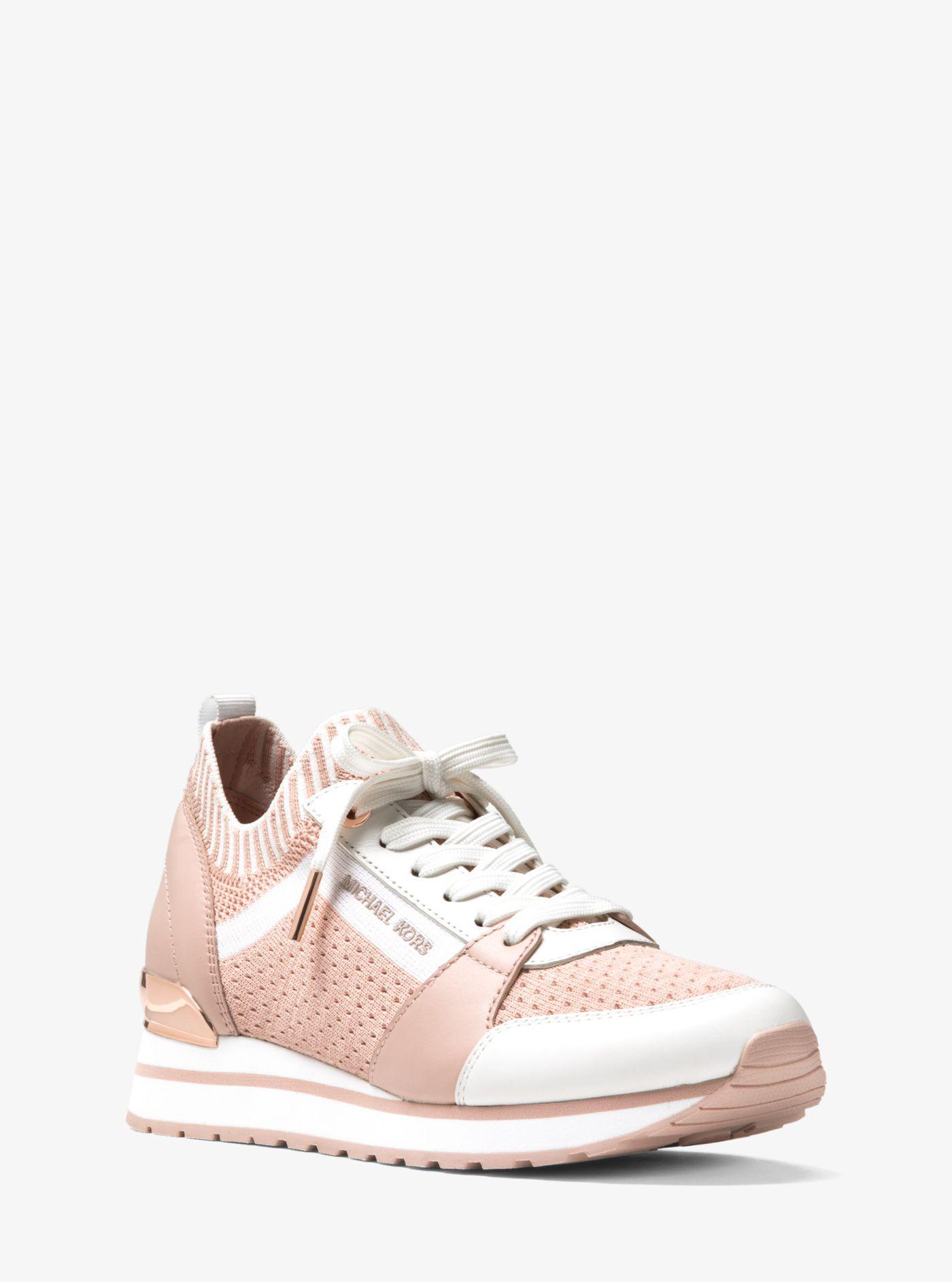 Michael Kors Leather Billie Knit