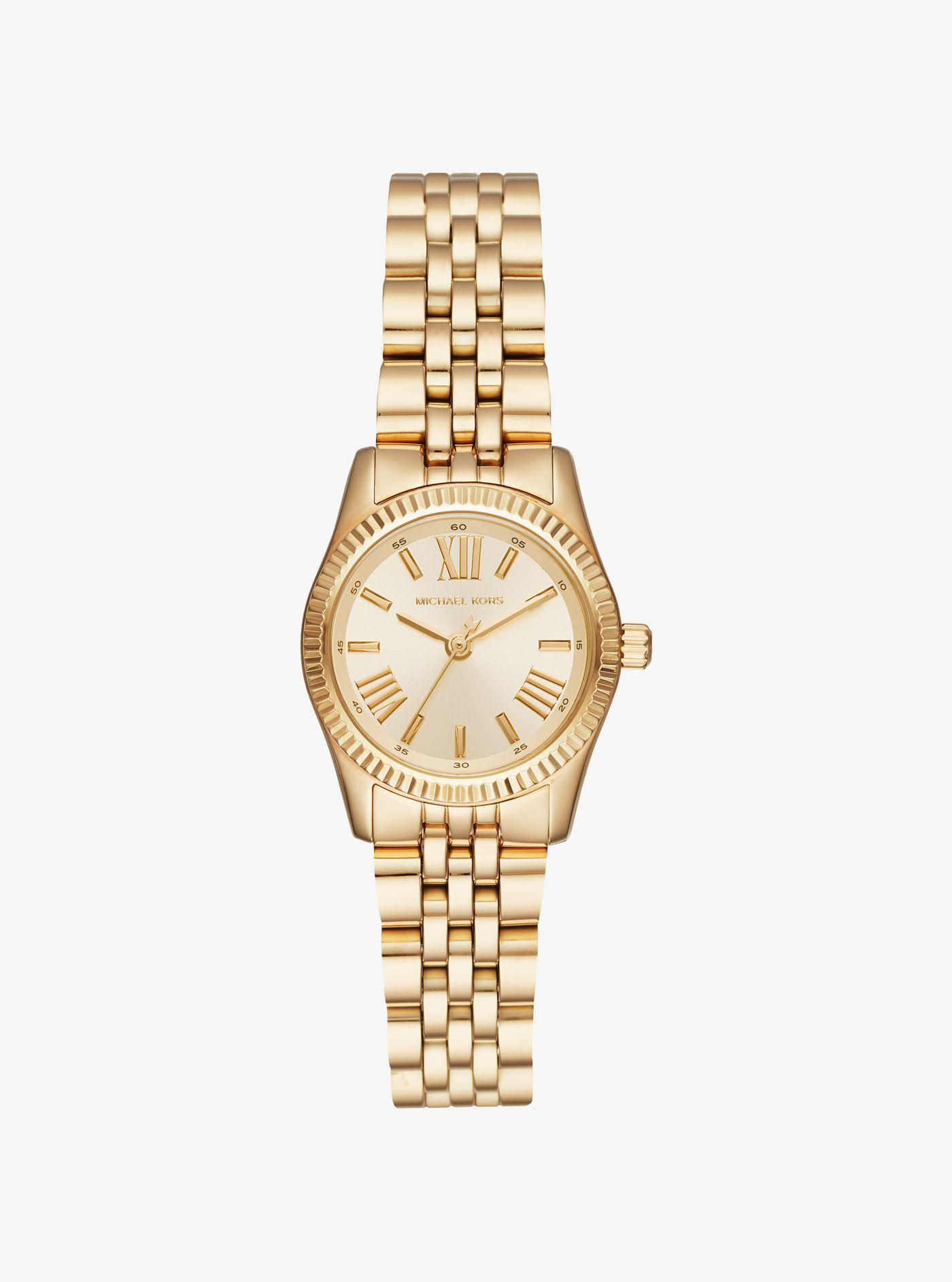 9473268f73ee6 Michael Kors - Metallic Lexington Bracelet Watch - Lyst. View fullscreen