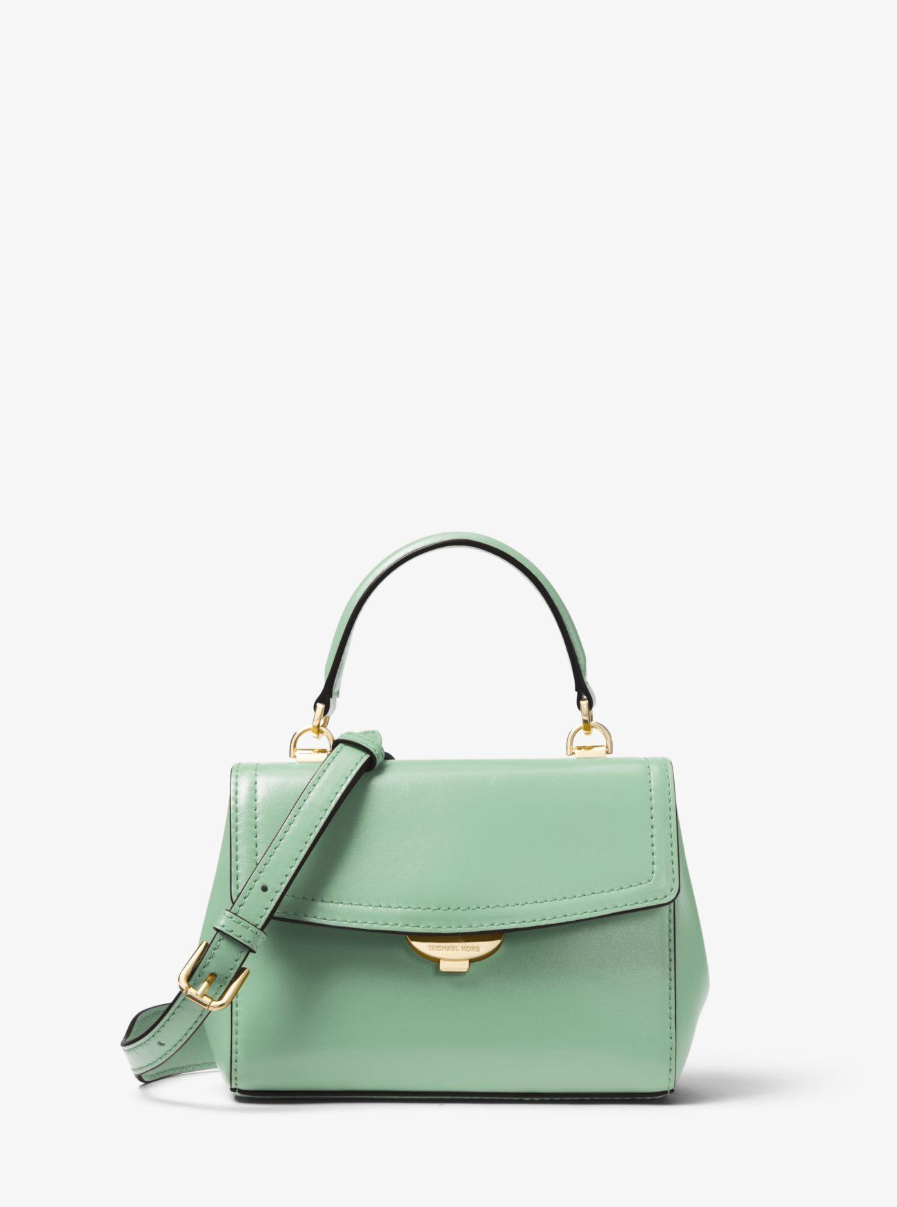 00fc004141f2 MICHAEL Michael Kors. Women's Green Ava Extra-small Leather Crossbody Bag